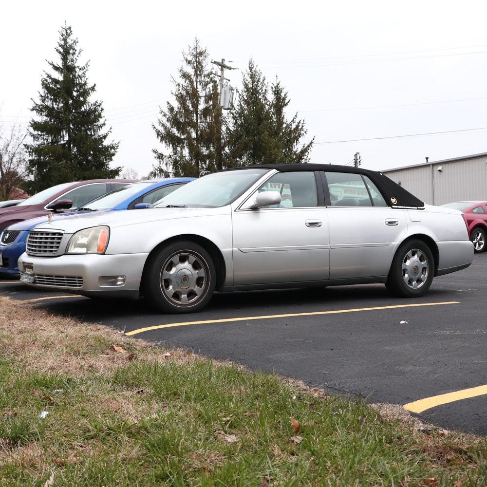 2003 Cadillac Deville 4-Door Sedan