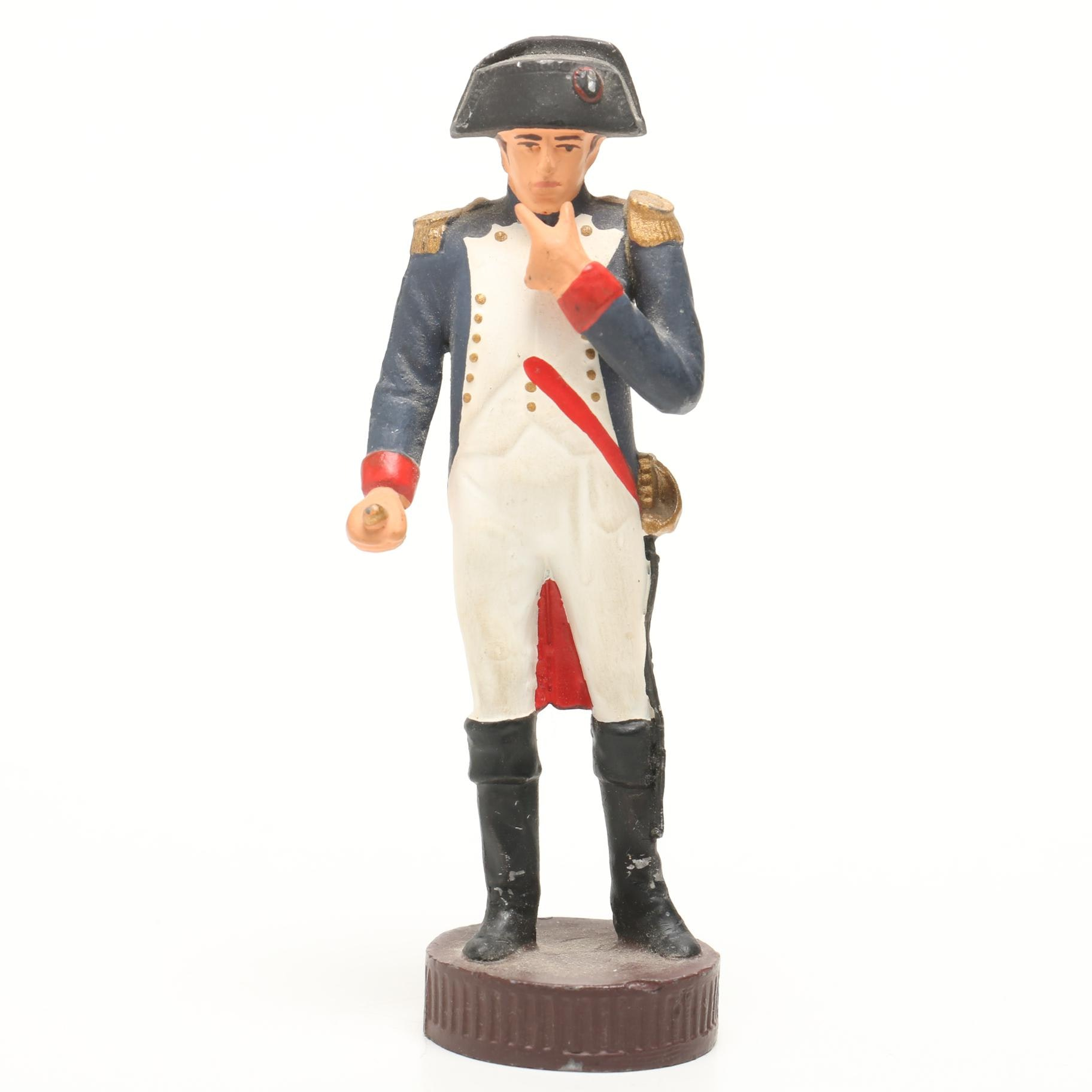 Contemporary United States Naval Cast Iron Soldier