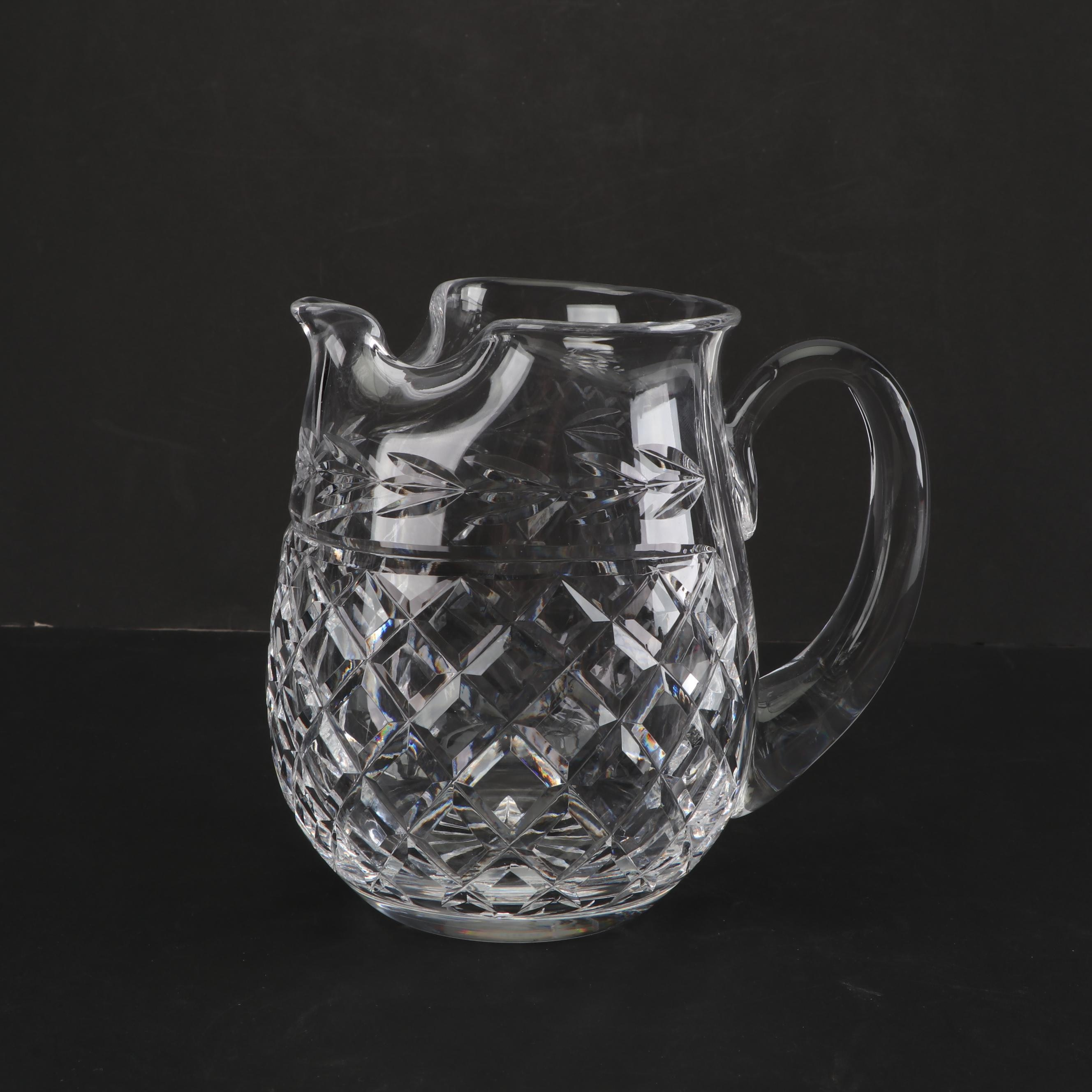 "Waterford Crystal ""Glandore"" Pitcher"