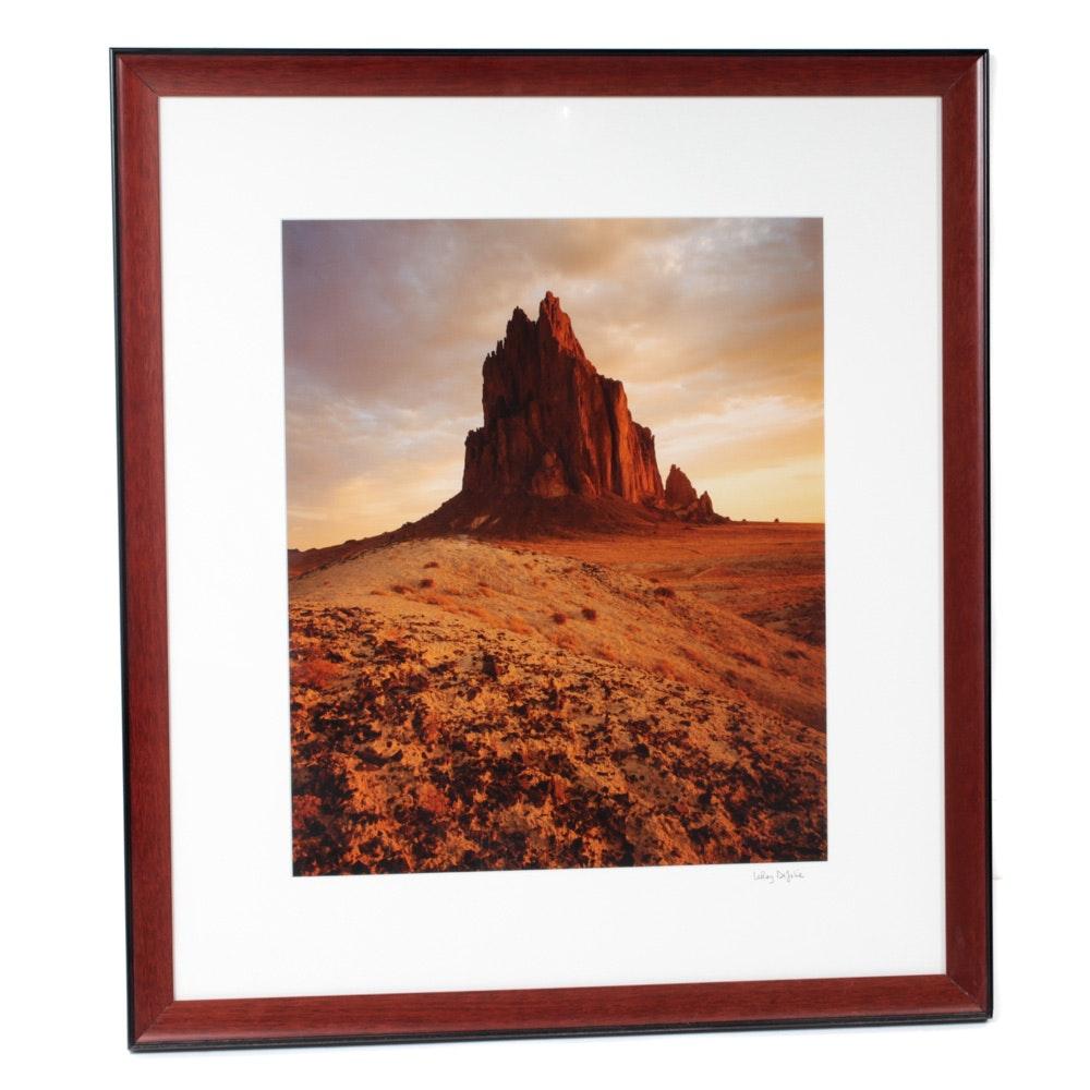 LeRoy DeJolie Color Photograph of Desert