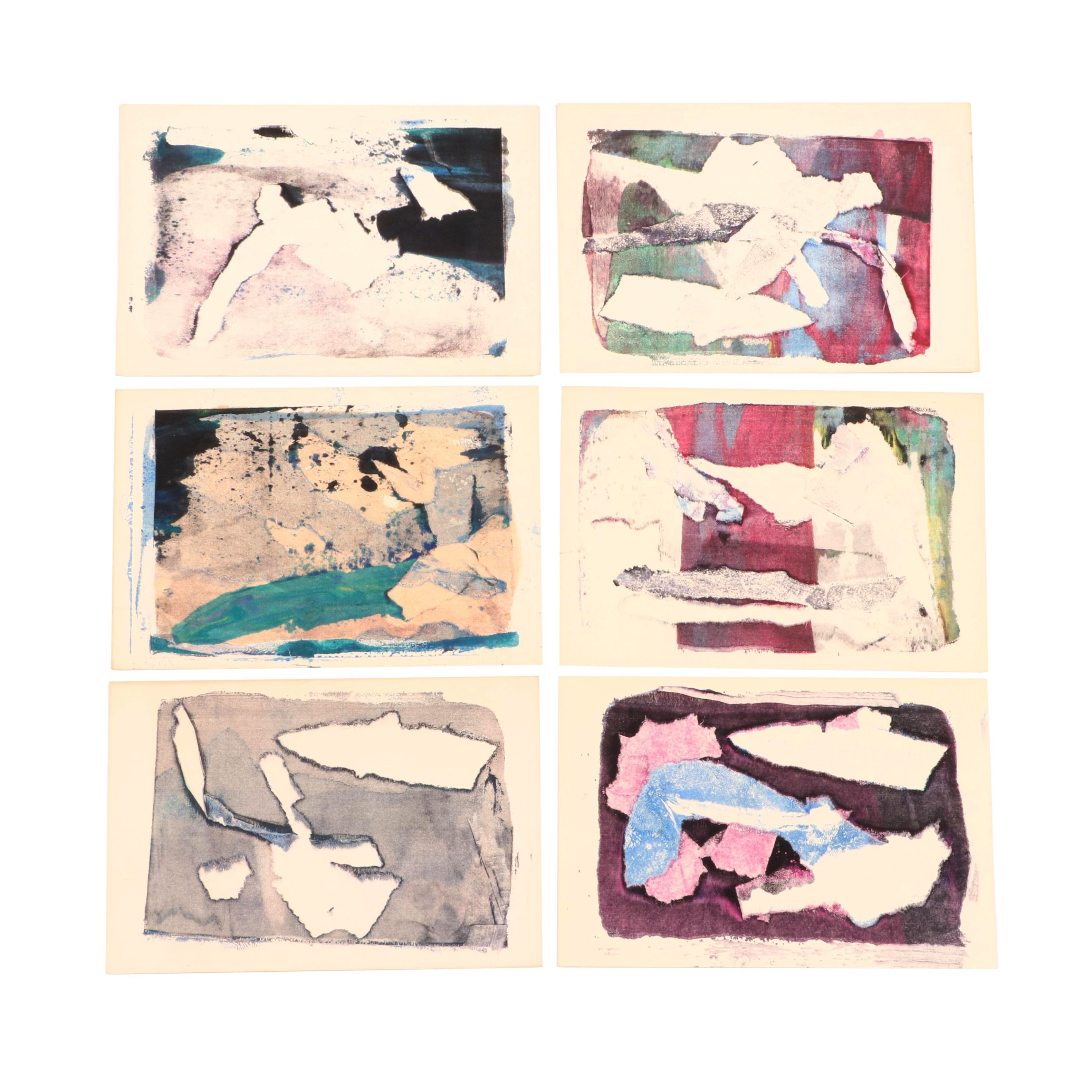 Paul Chidlaw Abstract Serigraphs