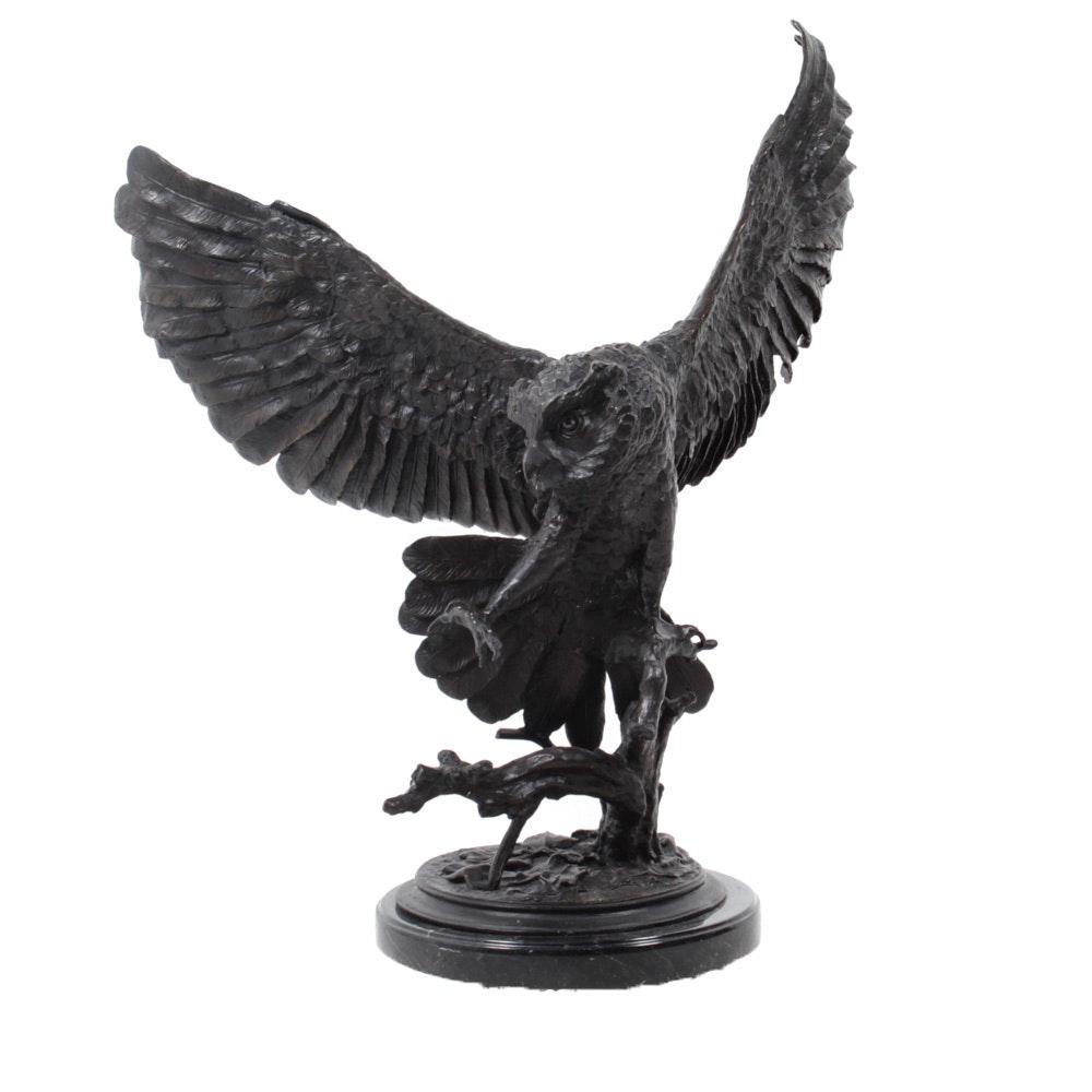 Bronze Sculpture After Jules Moigniez