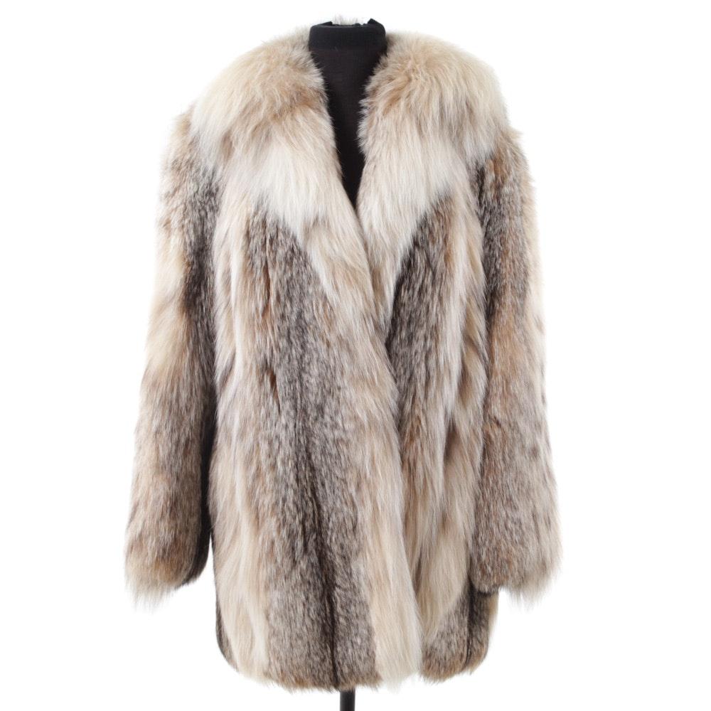 Lynx Fur Stroller Coat