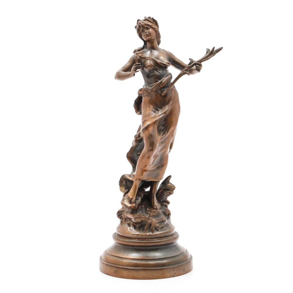 Classical Bronze Sculpture in the Manner of Auguste Moreau