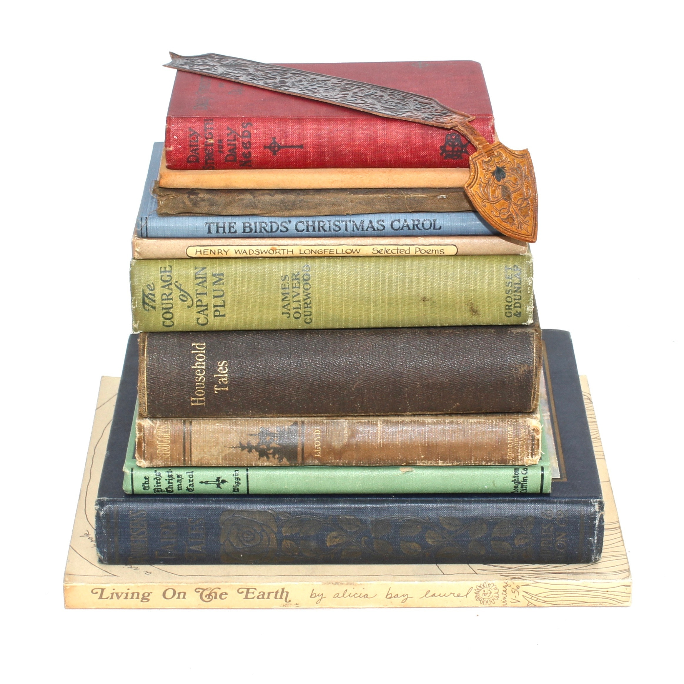 Collection of Vintage and Antique Books