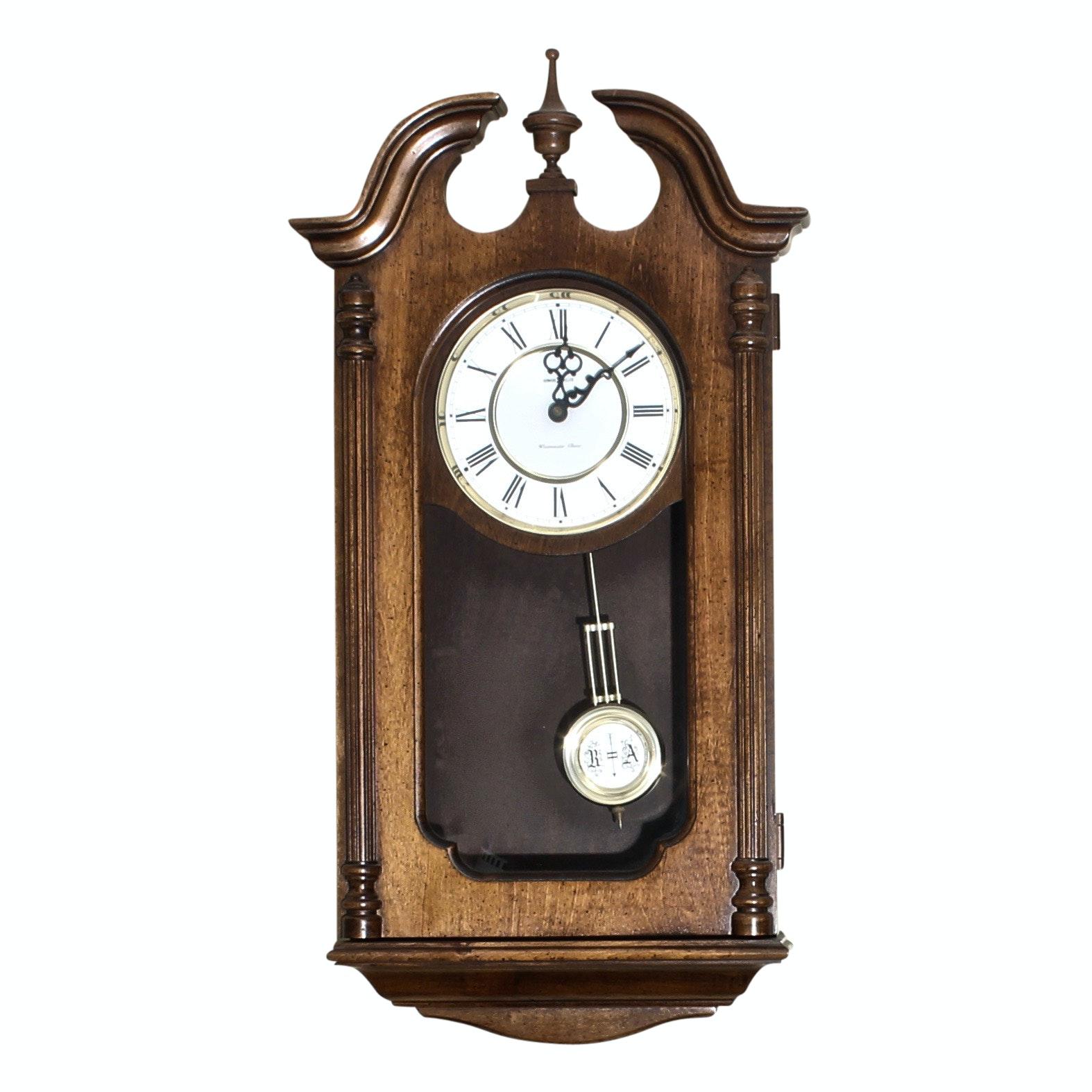 Vintage Howard Miller Westminster Chime Wall Clock