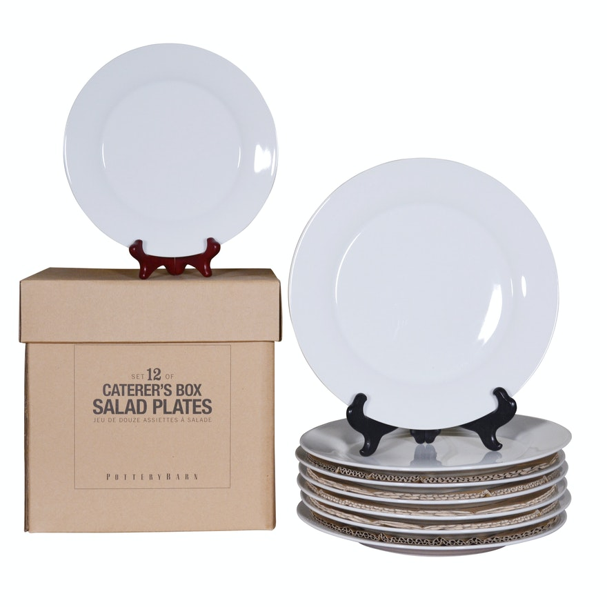 Pottery Barn Caterer S Box Dinner And Salad Plates