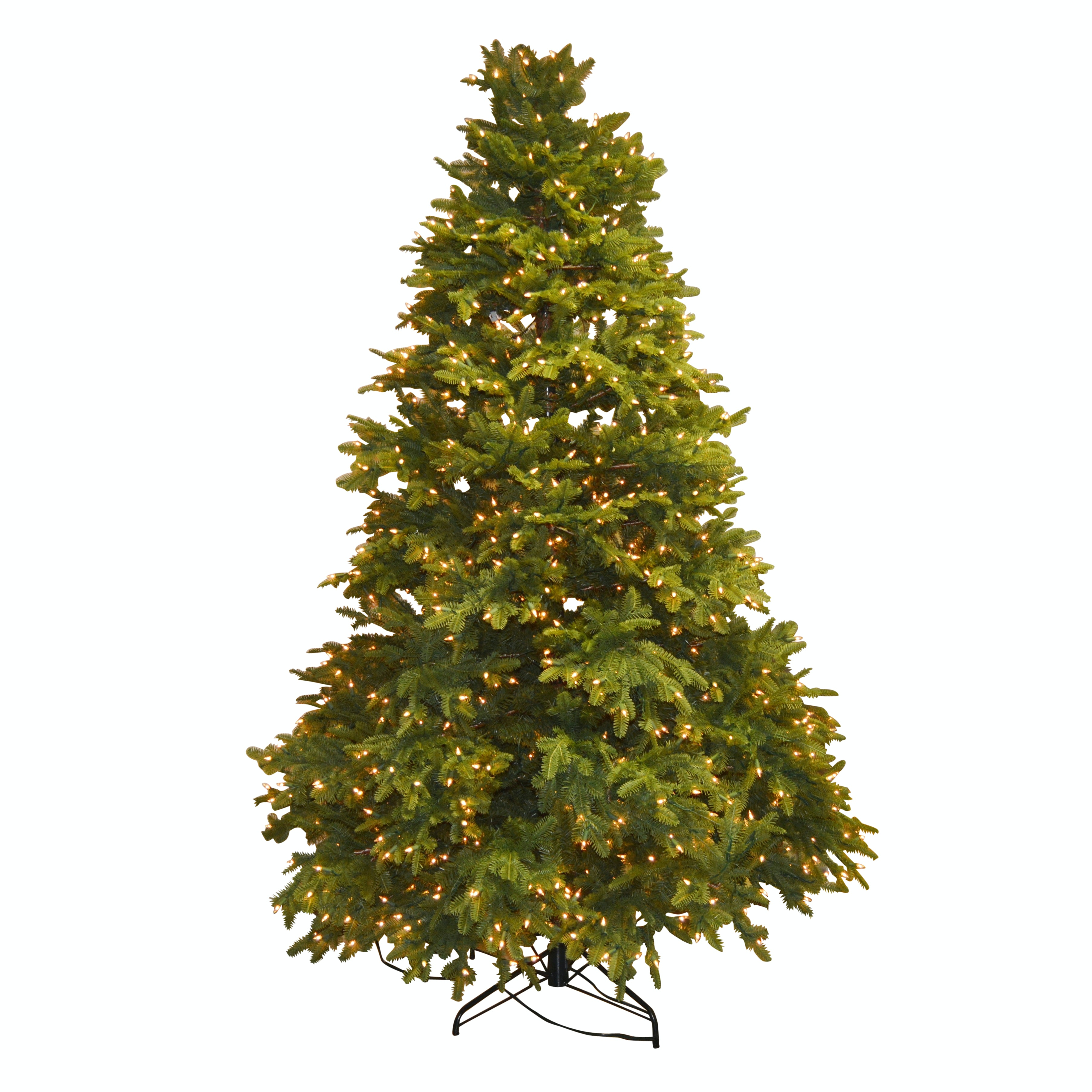 7.5' Artificial Christmas Tree and Grandin Road Tree Keeper Storage Bag