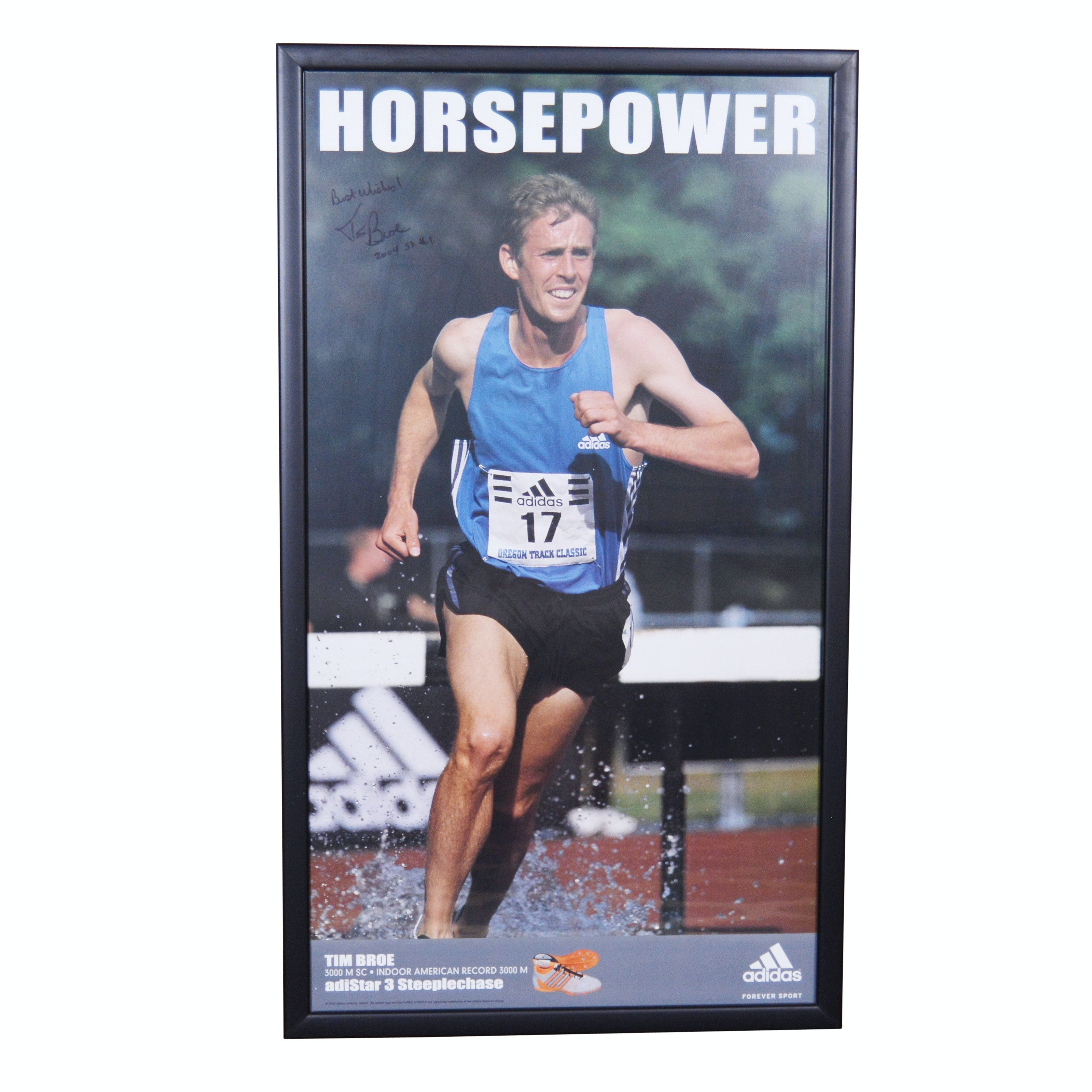 Tim Boe Horsepower Motivational Poster