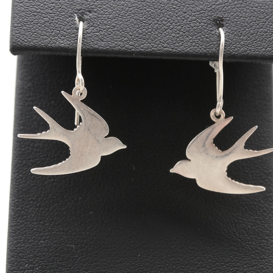 Sterling Silver Tashi Earrings