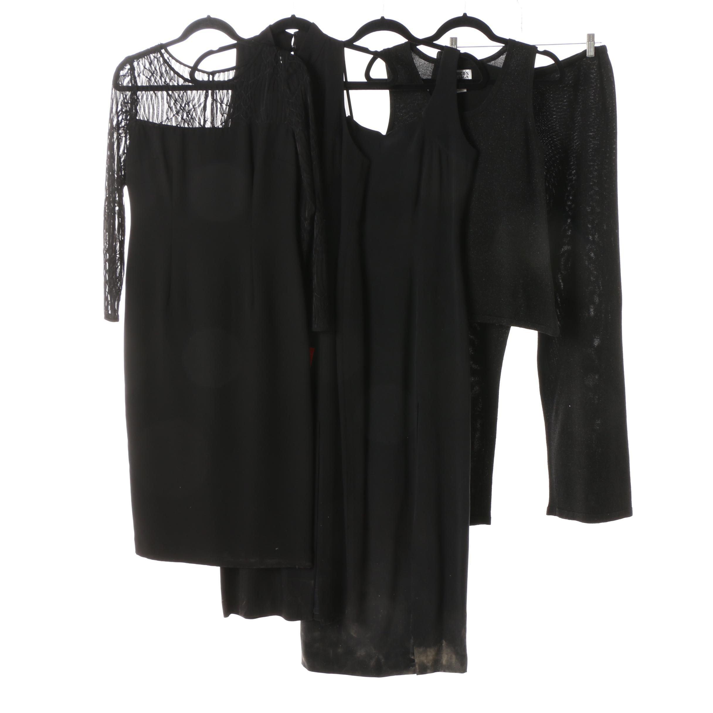 Women's Cocktail Attire in Black
