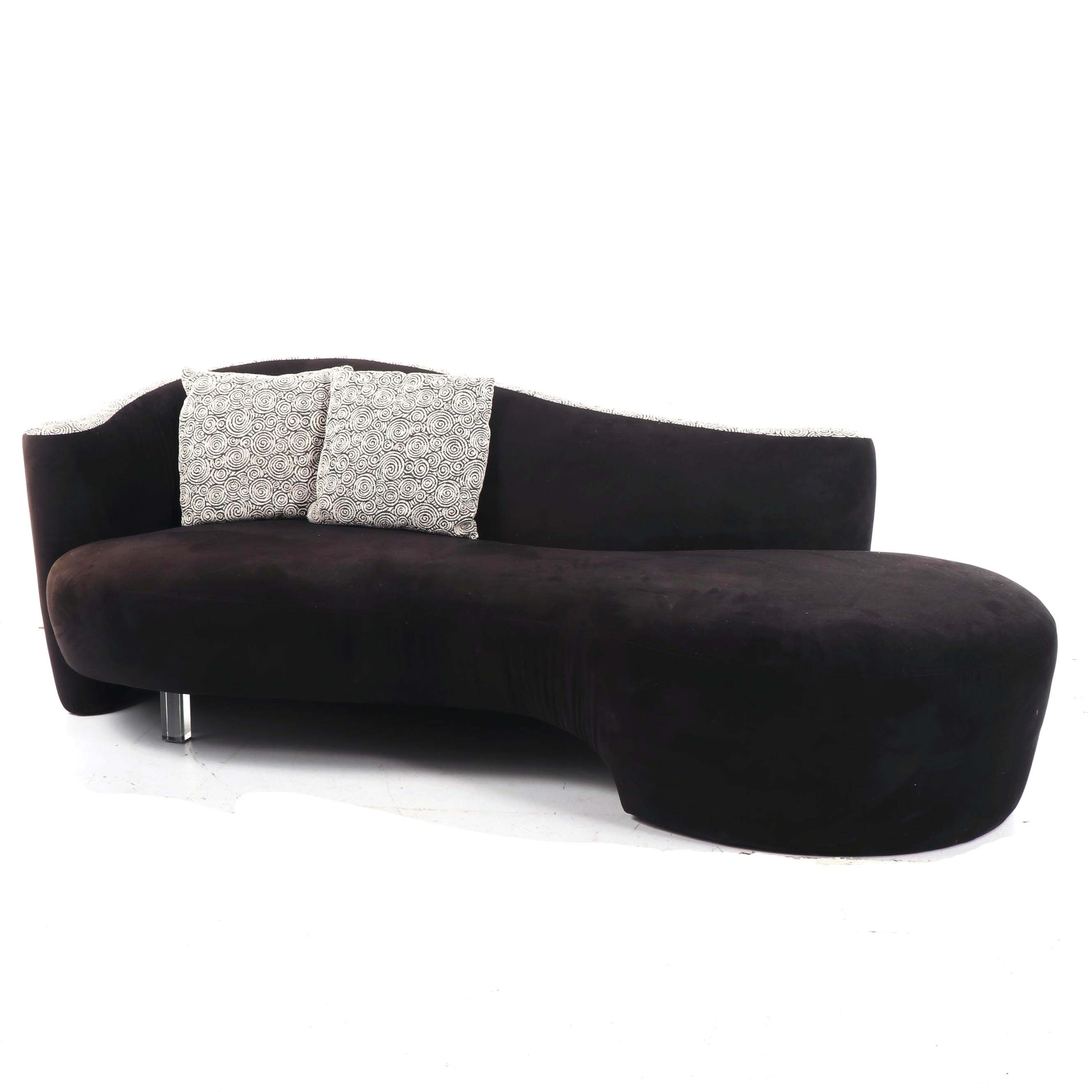 Curved Sofa in the Style of Kagan for Weiman-Preview Furniture, 21st Century