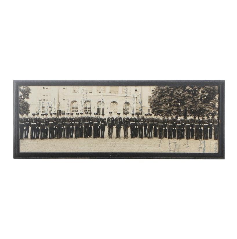 1943 Co. K., 2nd Battalion, 4th Regiment, Western High School Photograph
