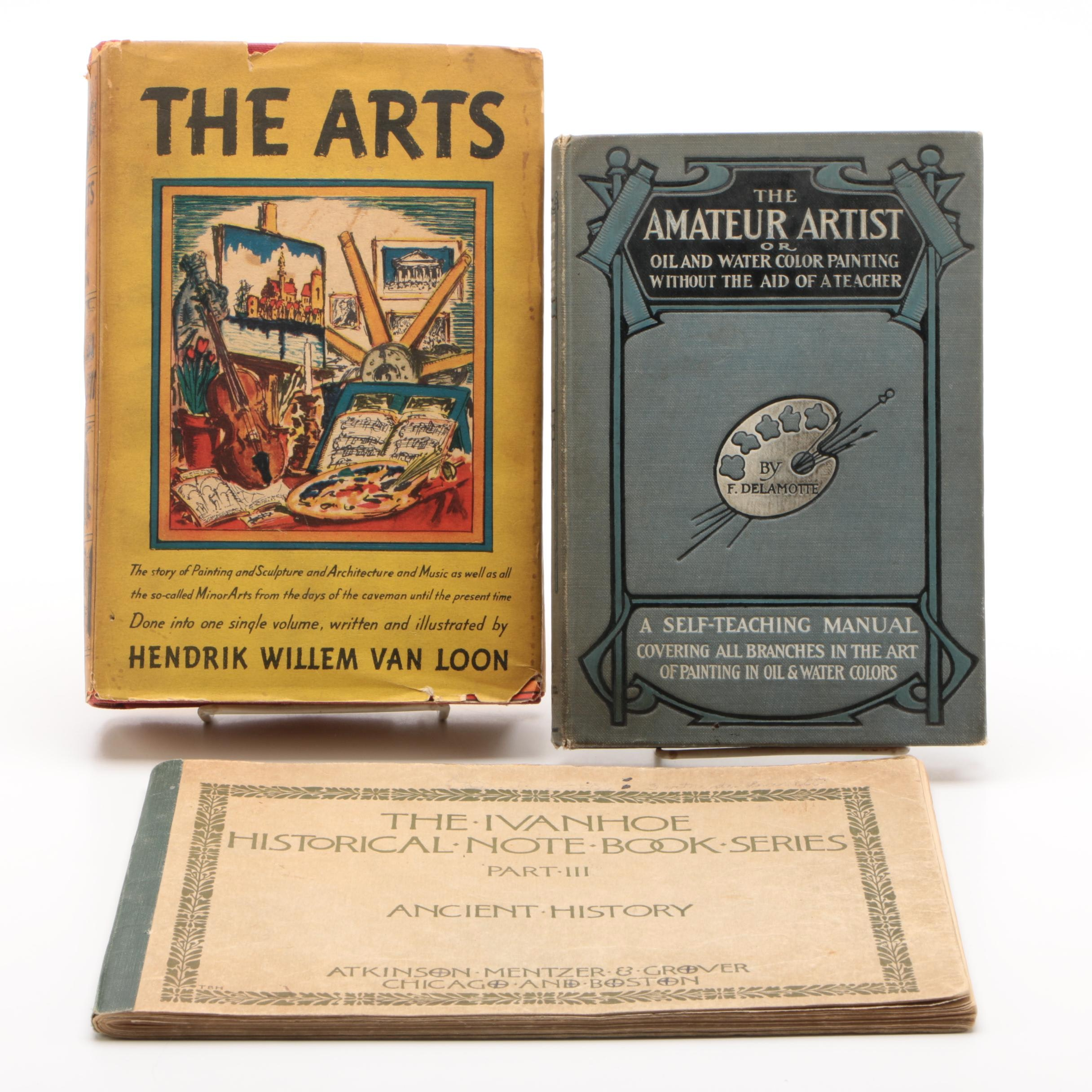 "1937 ""The Arts"" Book by Hendrik Willem Van Loon and More"