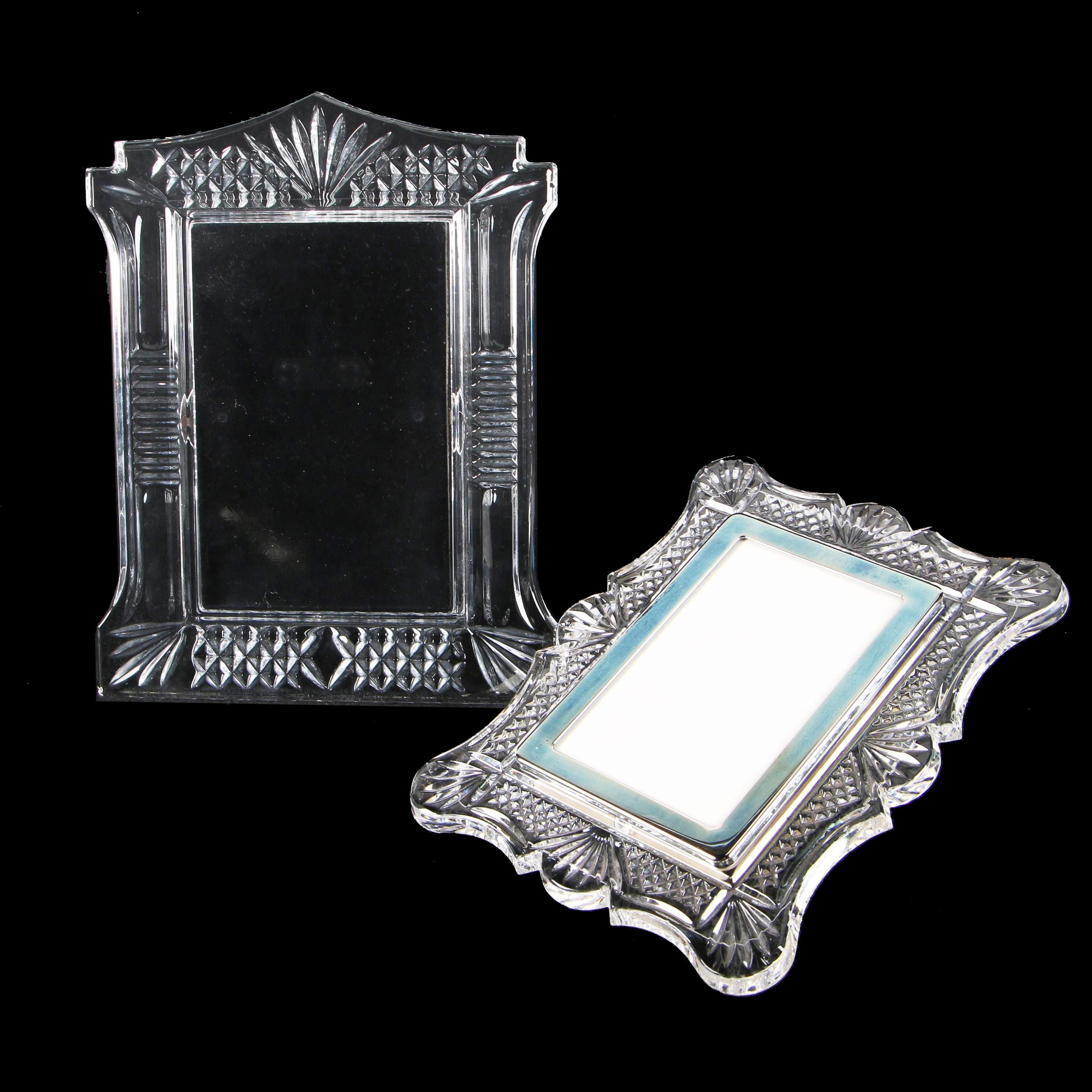 Waterford Crystal Picture Frames