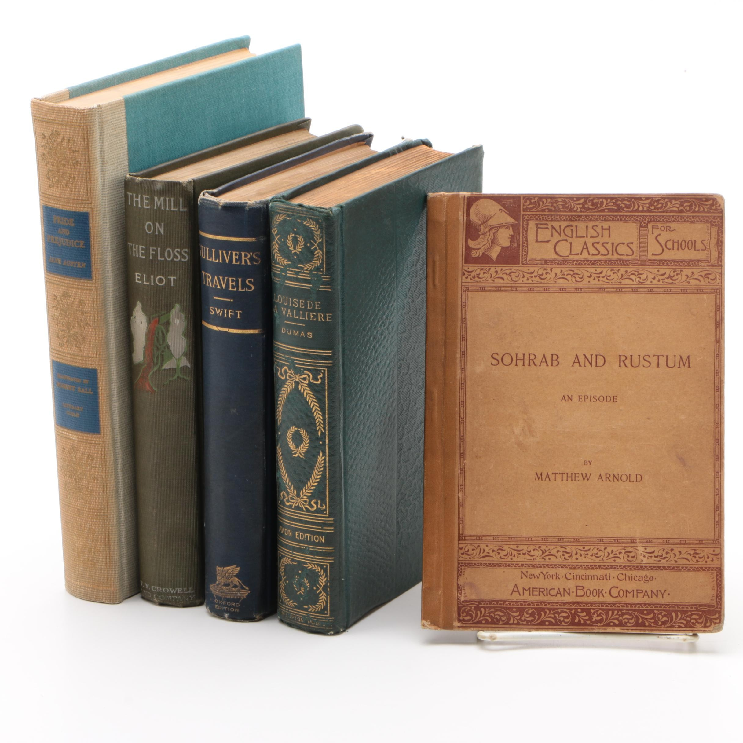 "Vintage and Antique Classics with ""Gulliver's Travels"" and ""Pride and Prejudice"""