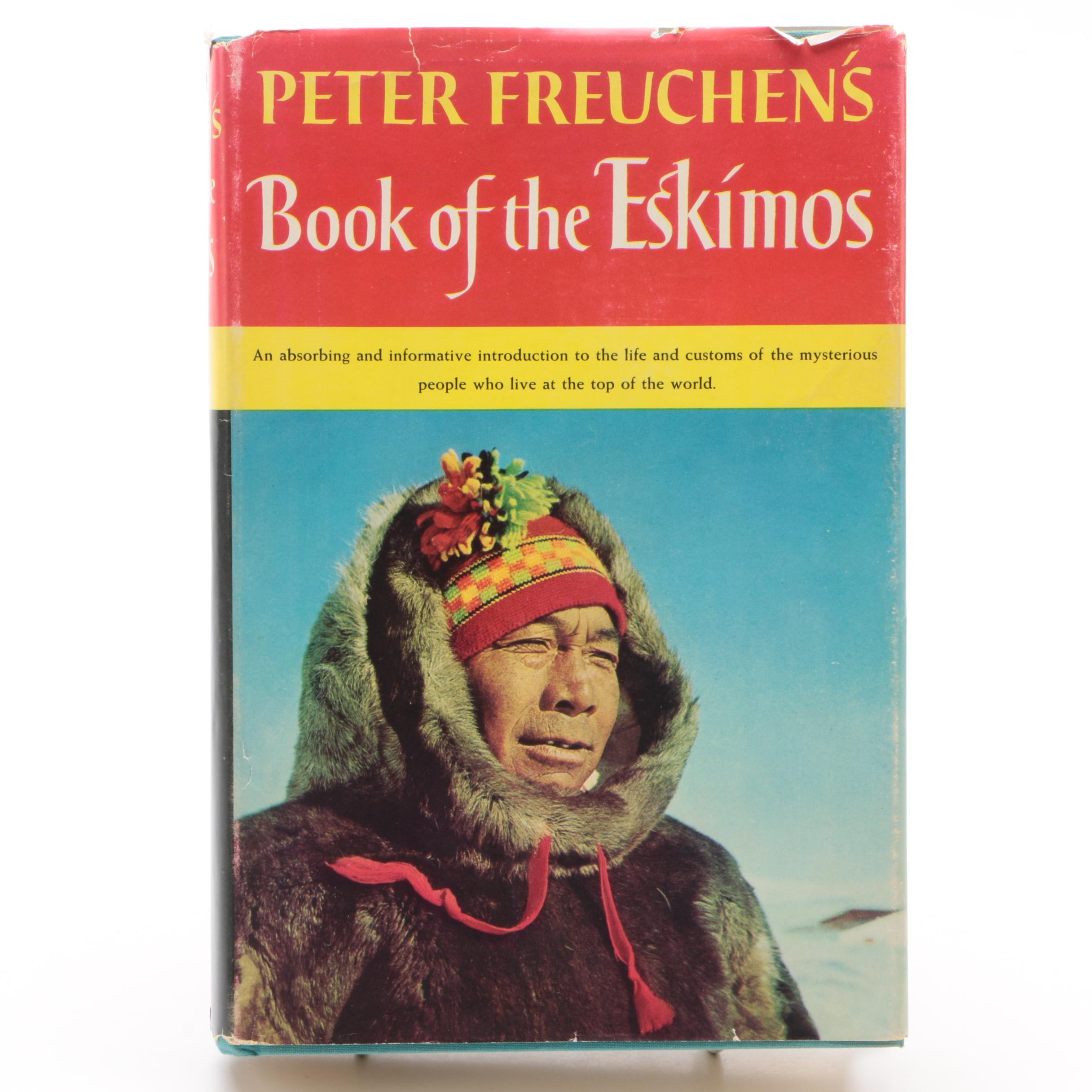 "1961 ""Book of the Eskimos"" by Peter Freuchen"