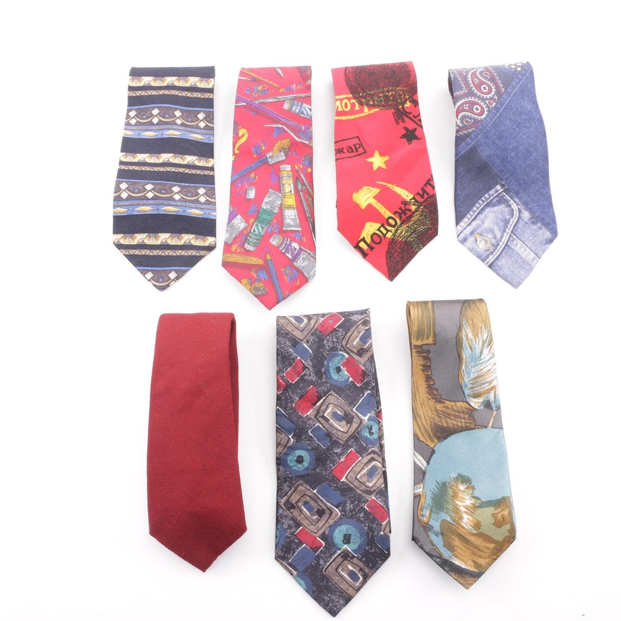 0db45711d3c Silk and Wool Neckties including The Beatles, Tommy Hilfiger and Lord &  Taylor ...