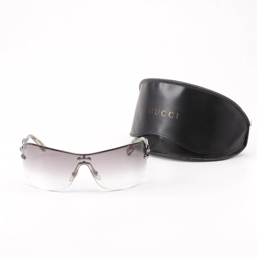b18e11326e Gucci GG 2772 S Shield Sunglasses with Case   EBTH