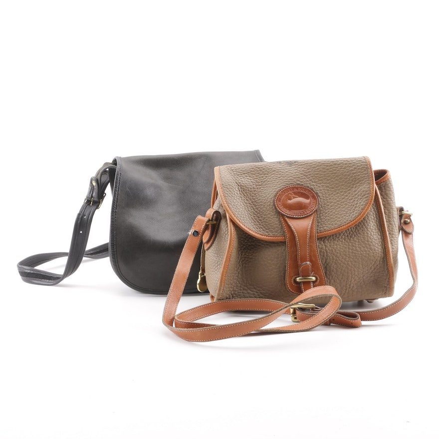 f6a37038a64a Dooney   Bourke and Coach Leather Crossbody Bags   EBTH