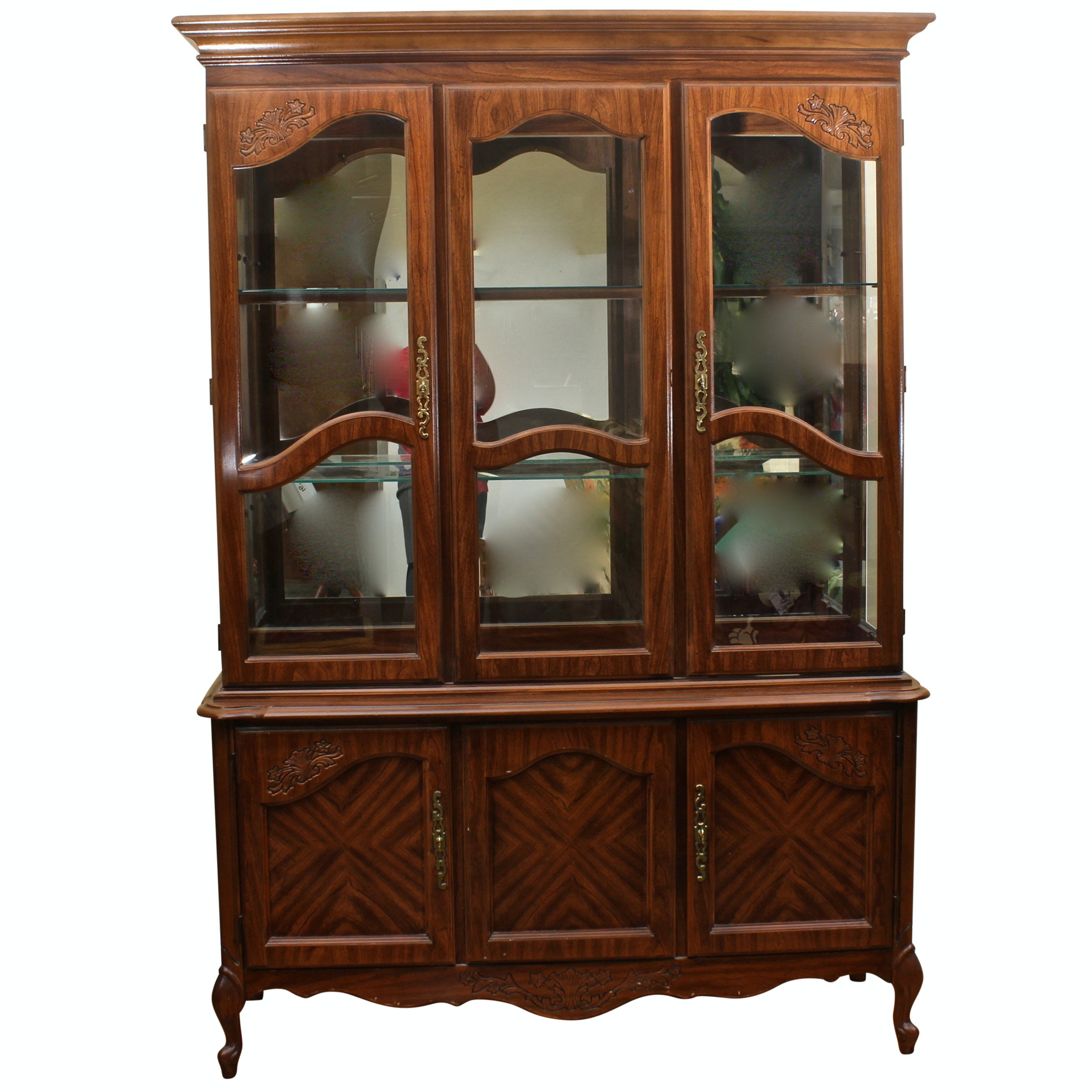 Broyhill Breakfront China Cabinet
