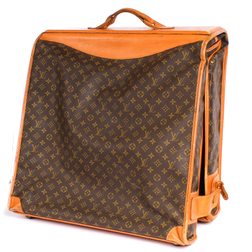 0f216dd95e93 Louis Vuitton Manufactured by The French Company Monogrammed Canvas Garment  Bag   EBTH