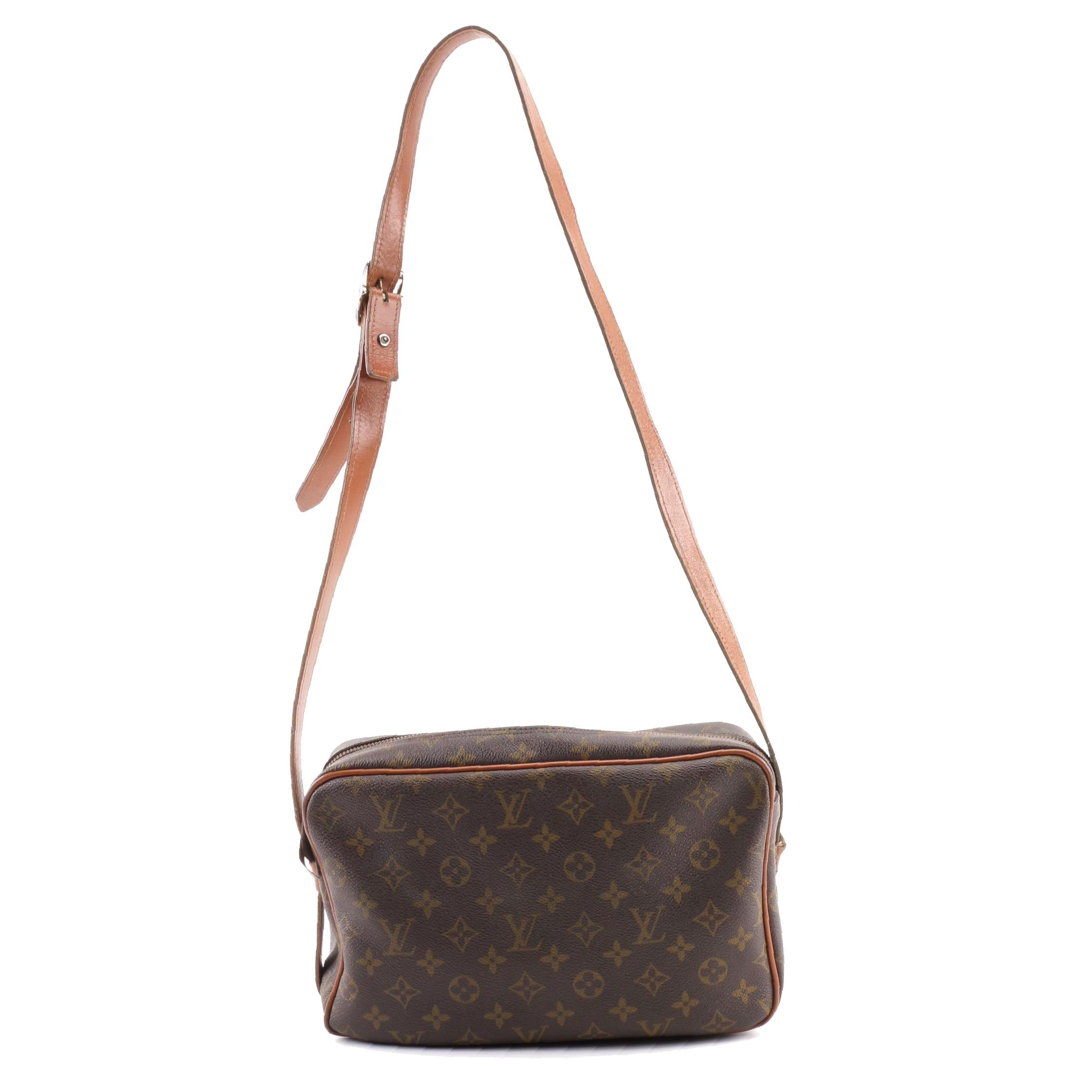 The French Company for Louis Vuitton Bandouliere Monogram Canvas Shoulder Bag