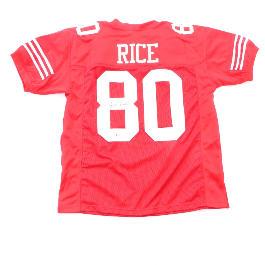 online store c31fb 3a03b Jerry Rice Signed Jersey COA