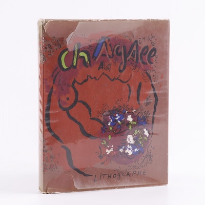 """1960 First Edition """"Chagall Lithographe"""" by Julien Cain"""