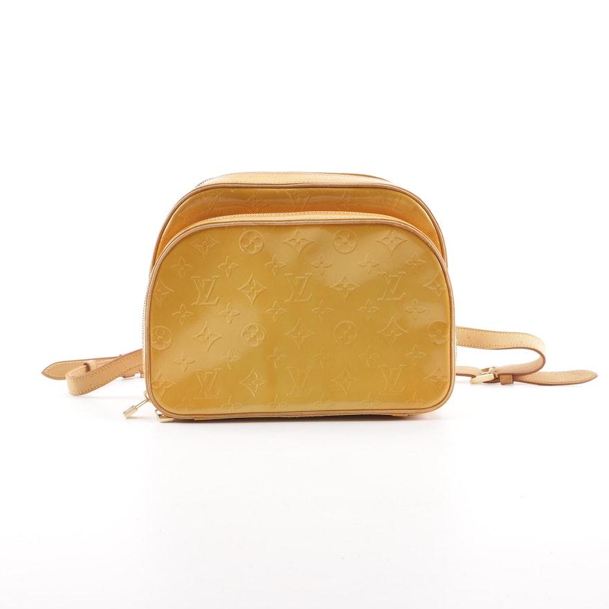 9b1ae8664273 1999 Louis Vuitton Paris Mango Vernis Leather Murray Backpack   EBTH