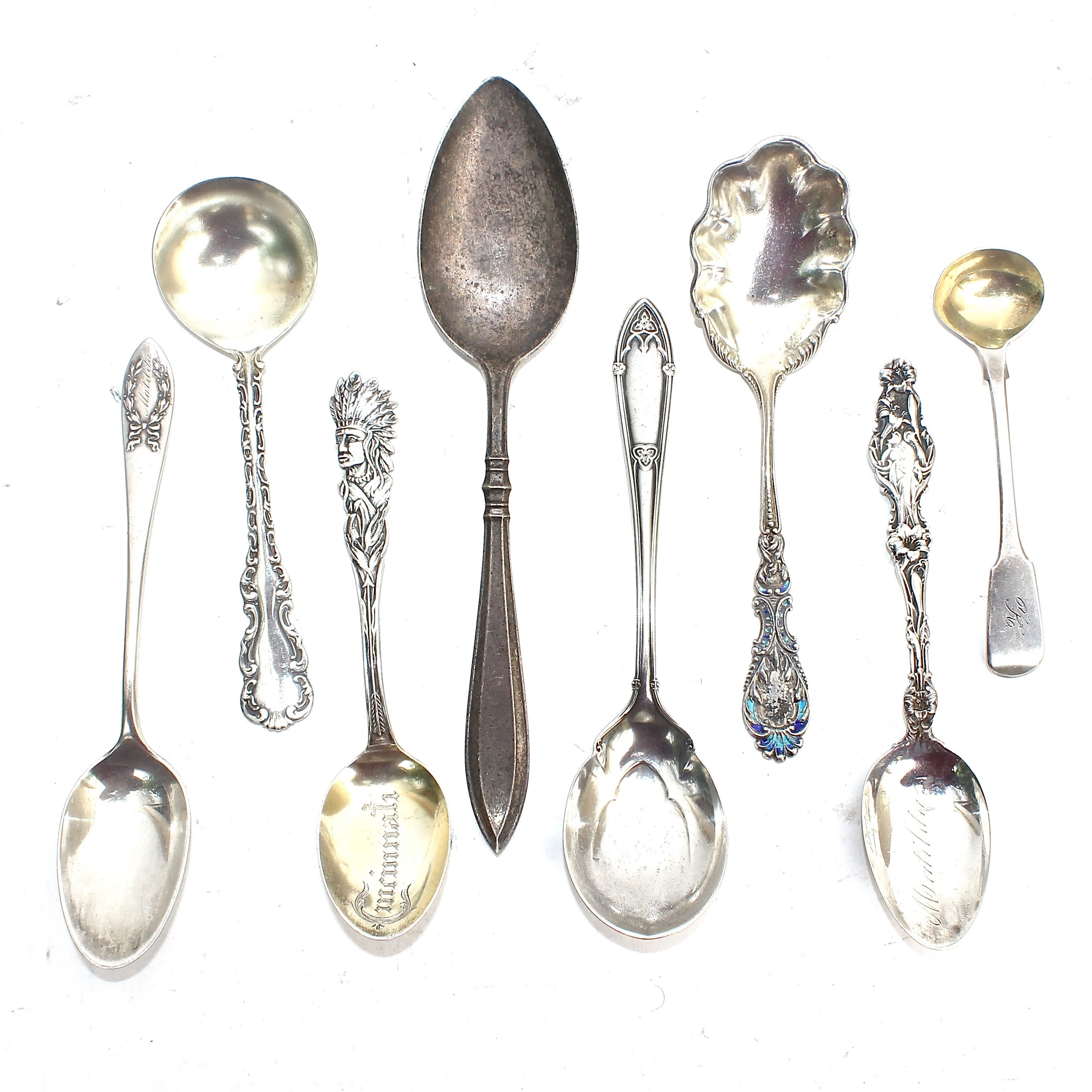 Collection of Vintage Sterling Silver Flatware