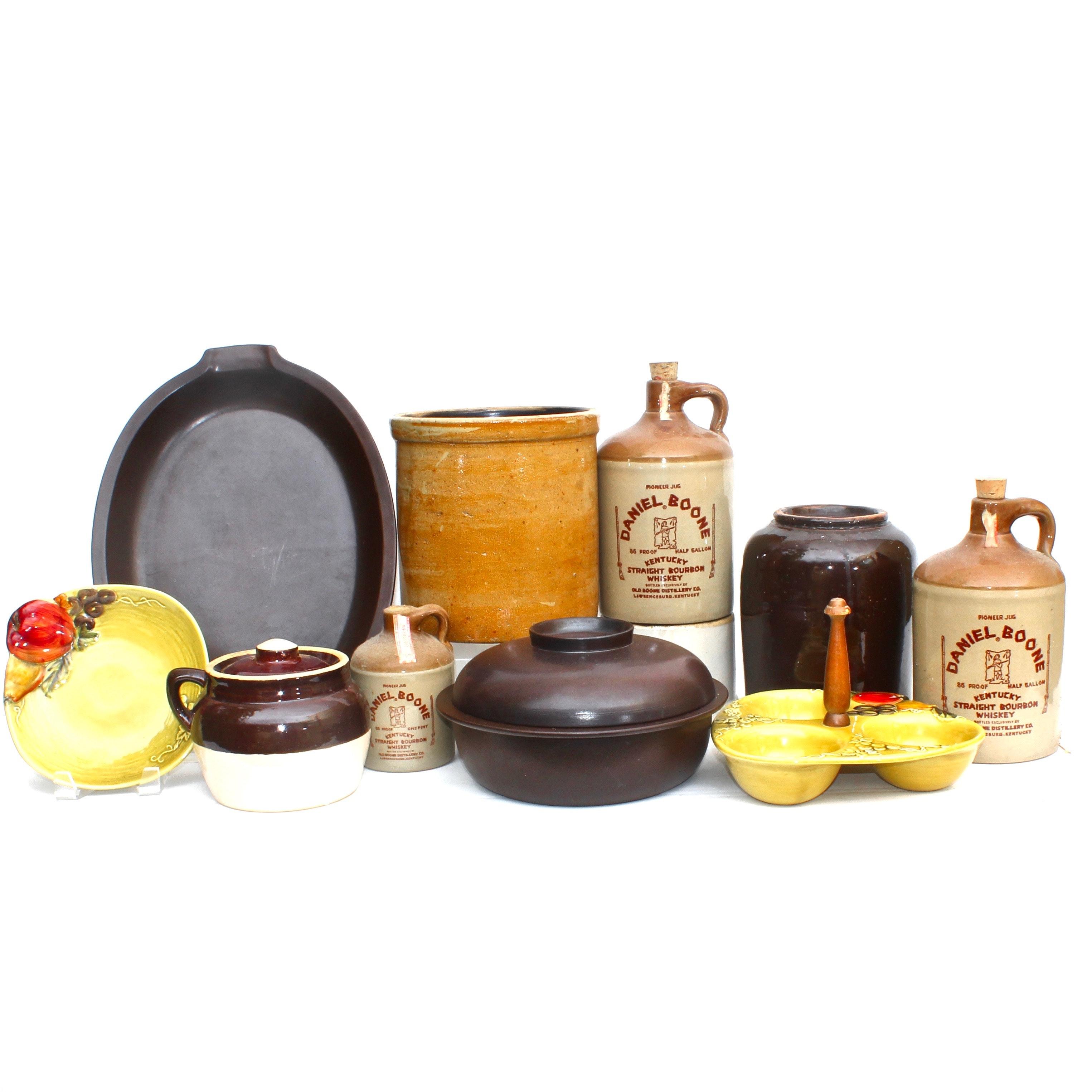 Lefton and Arabia Ceramic Service Ware