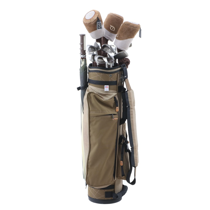 Women S Crystal Cat Lynx Golf Clubs And Bag In