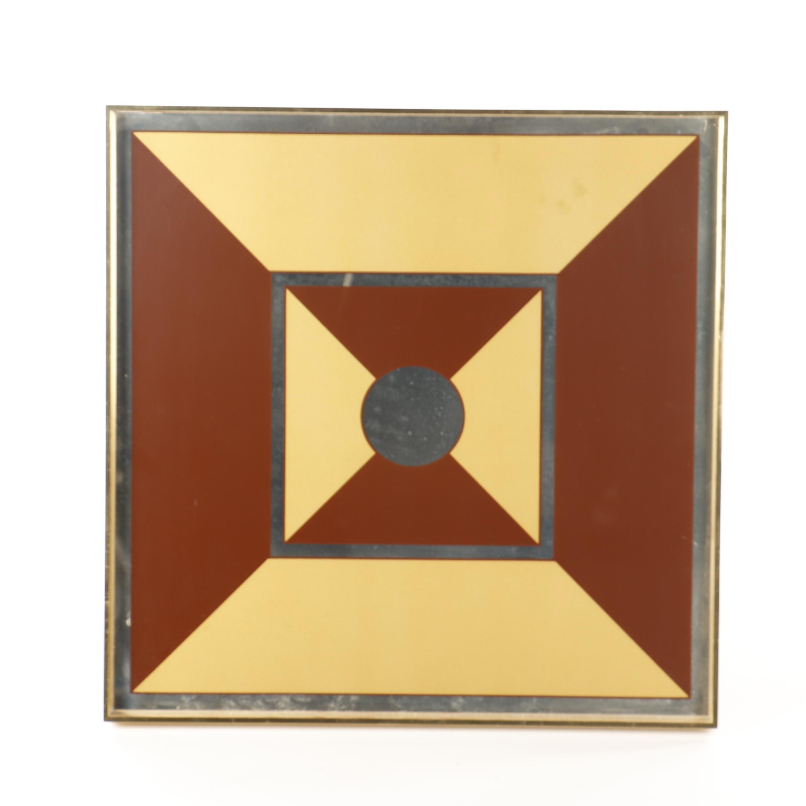 Decorative Geometric Wall Mirror