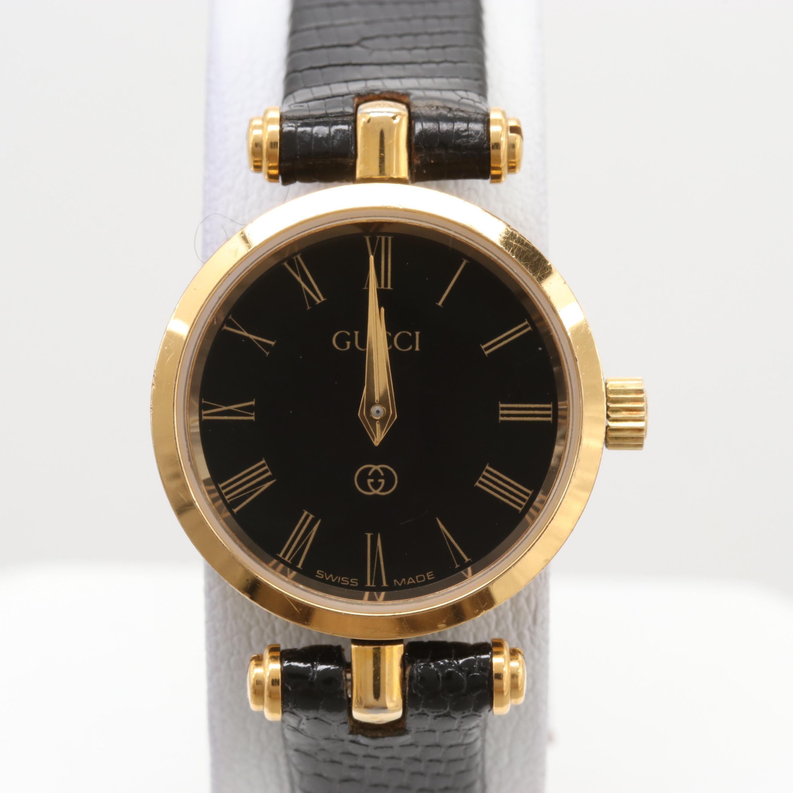 Gucci Gold Tone Wristwatch