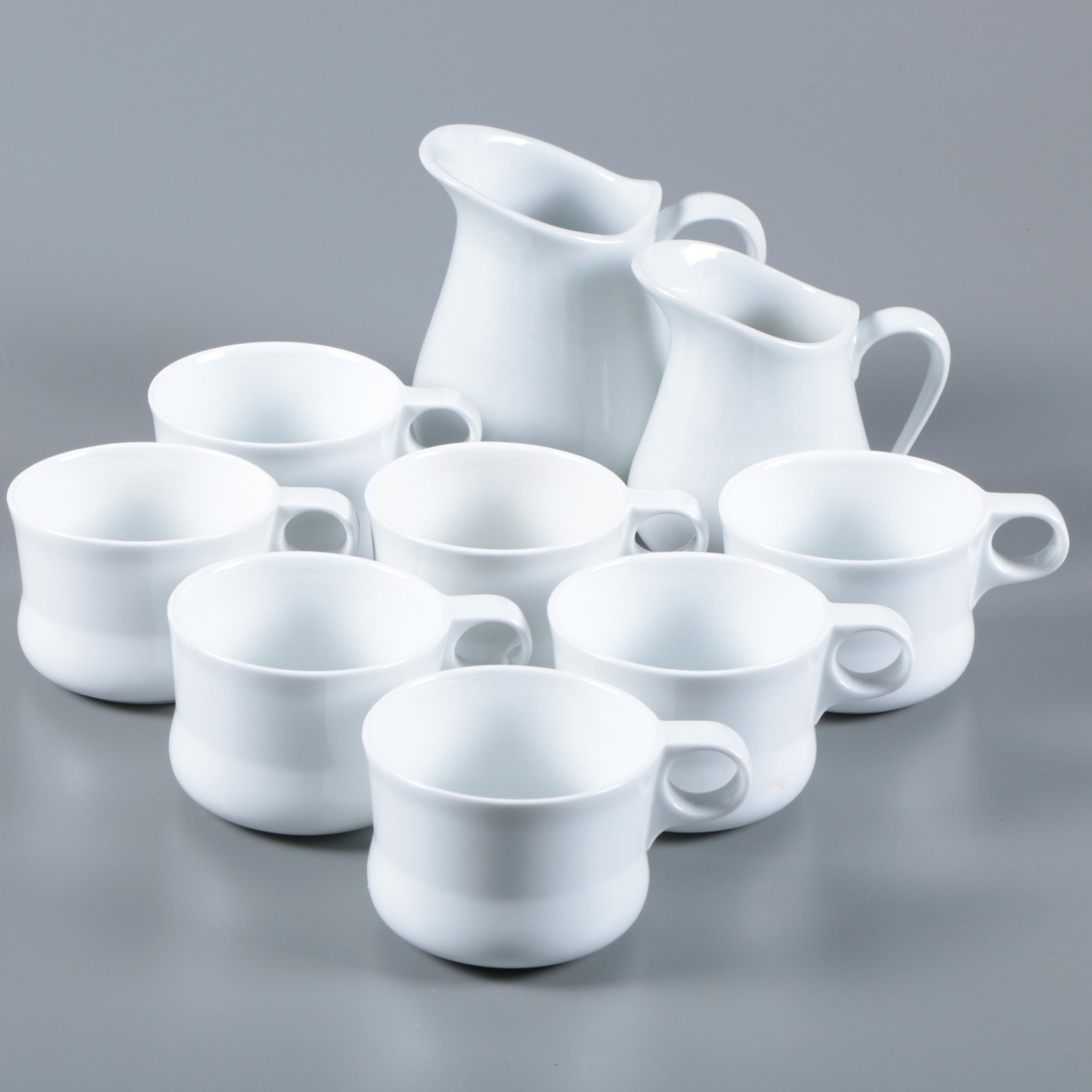 """Crate & Barrel """"Pause"""" Pitchers and Mugs Designed by Sagaform"""
