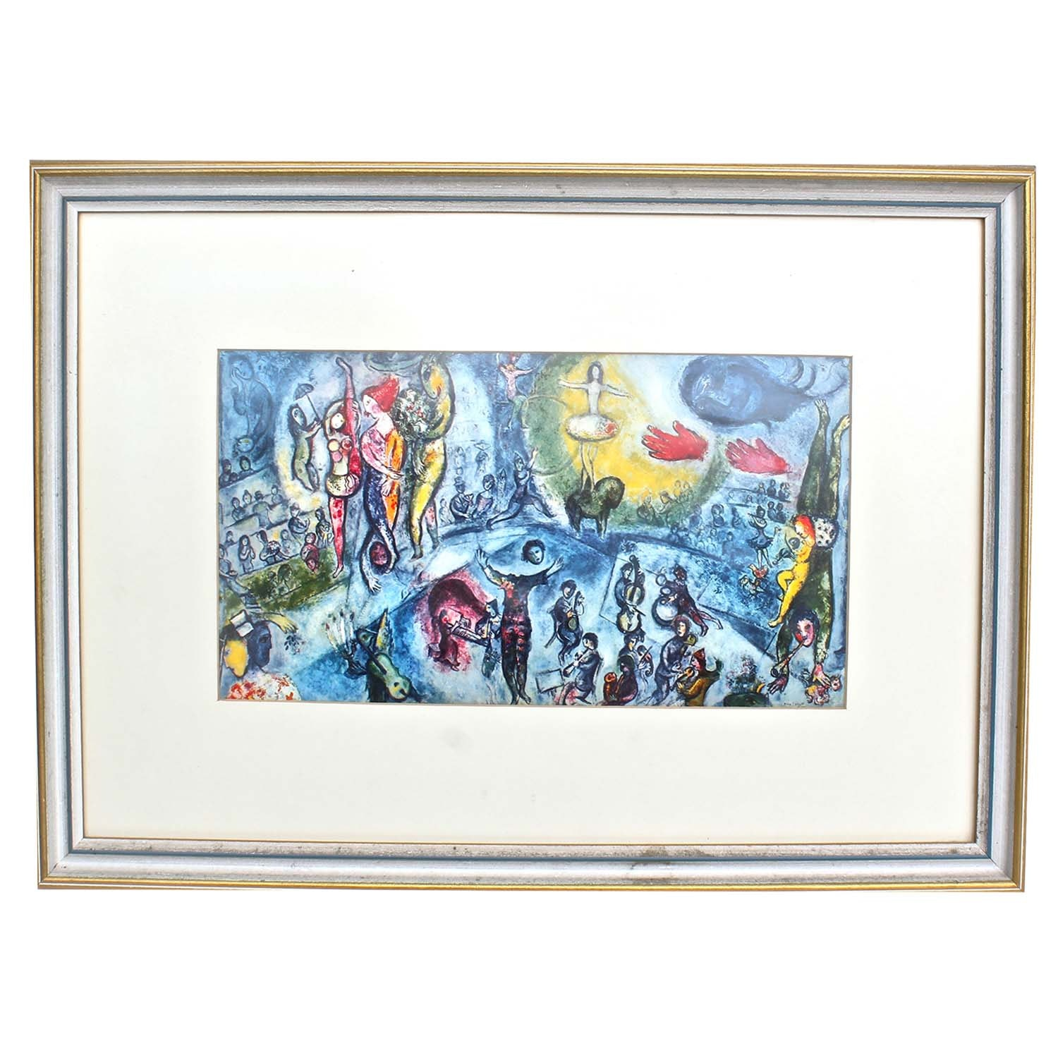 After Marc Chagall Lithograph on Paper