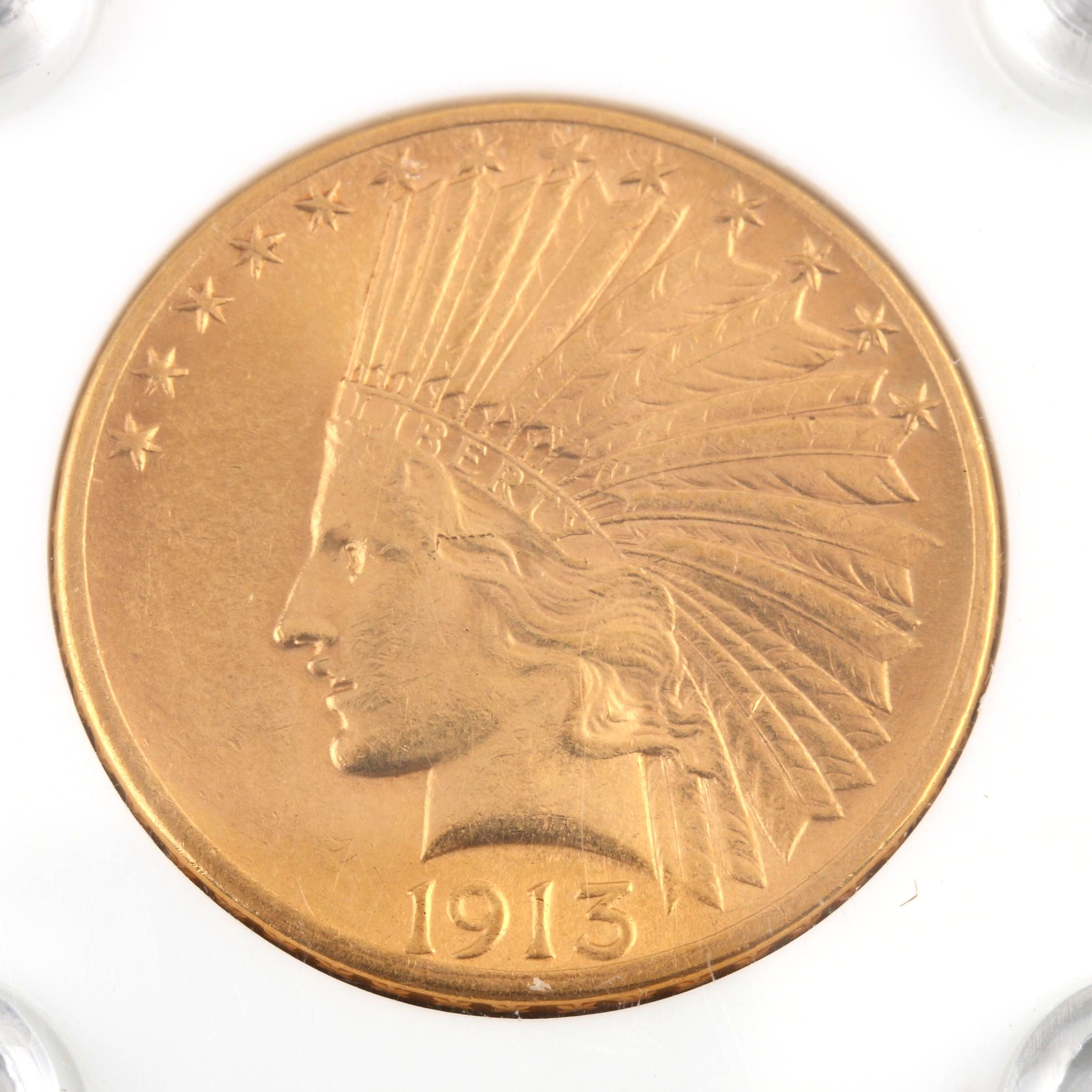 1915 Indian Head $10 Gold Coin