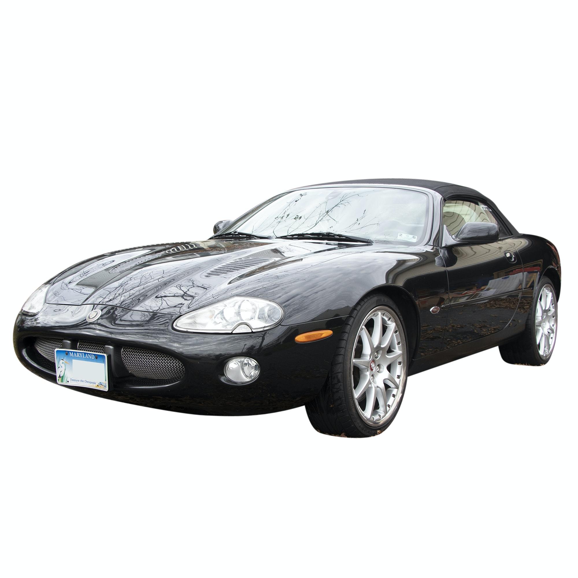 2002 Jaguar XKR 100 Convertible