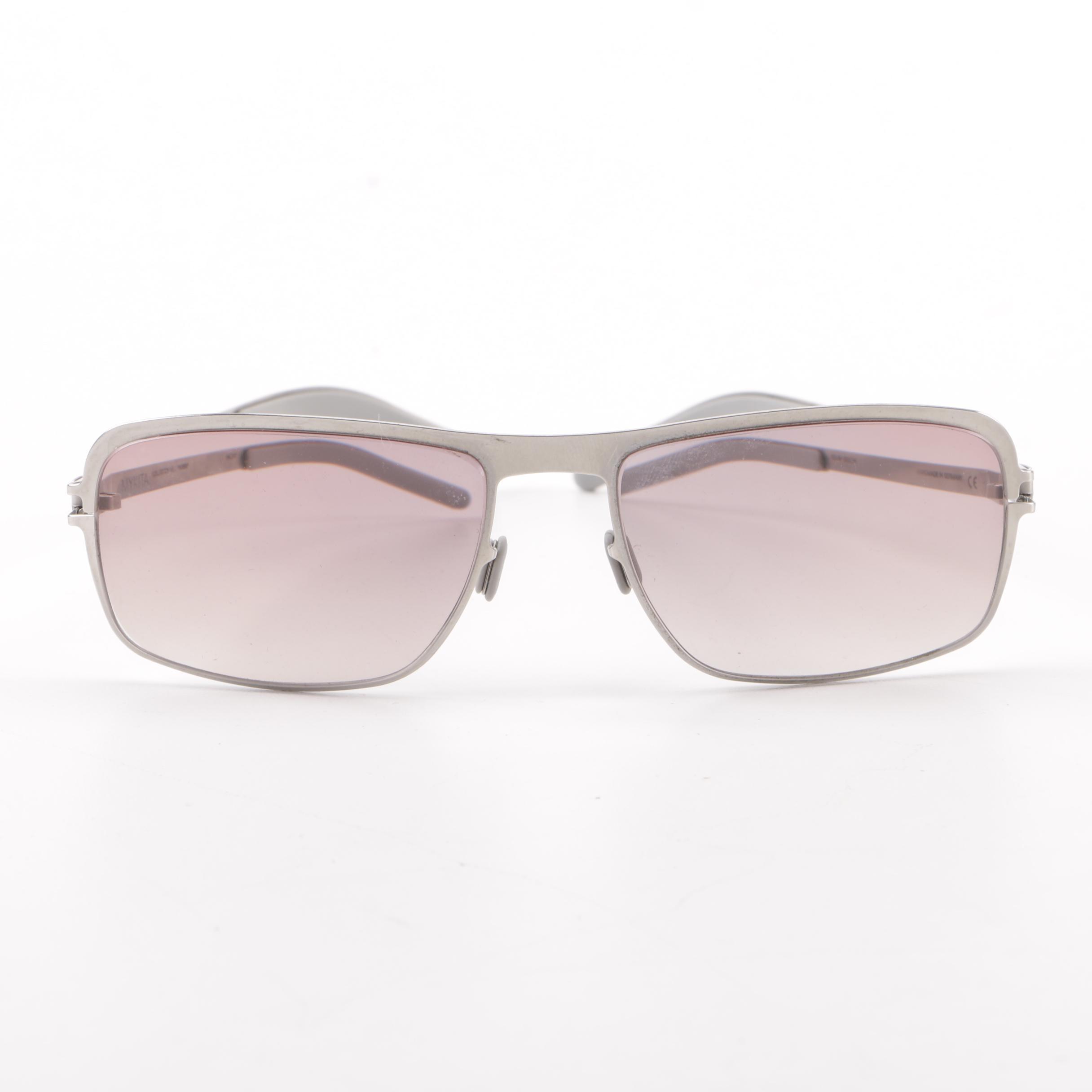 Mykita Collection No.1 Robin Stainless Steel Prescription Gradient Sunglasses