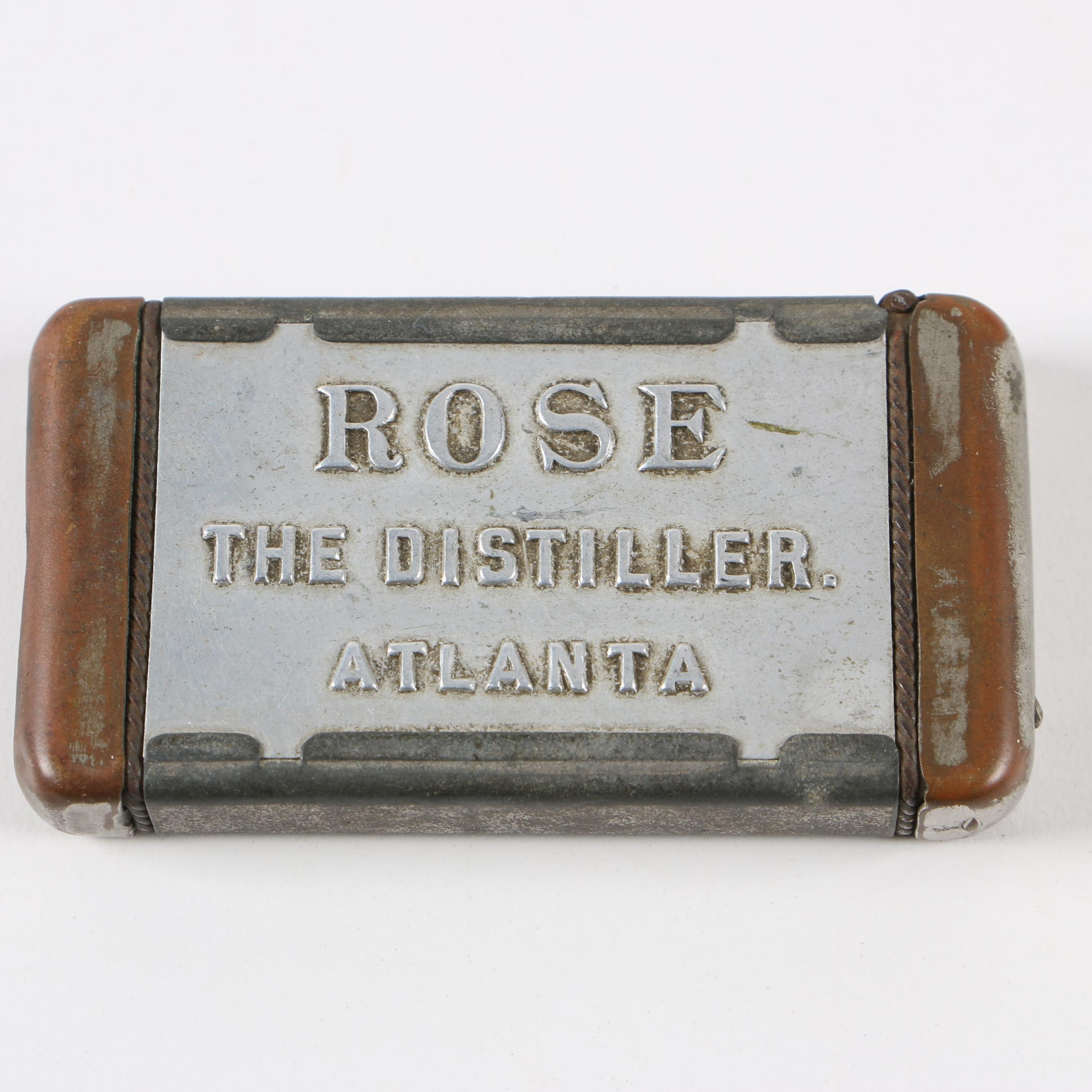 N.J. Aluminum Co. Lighter Case, Late 19th-Early 20th Century