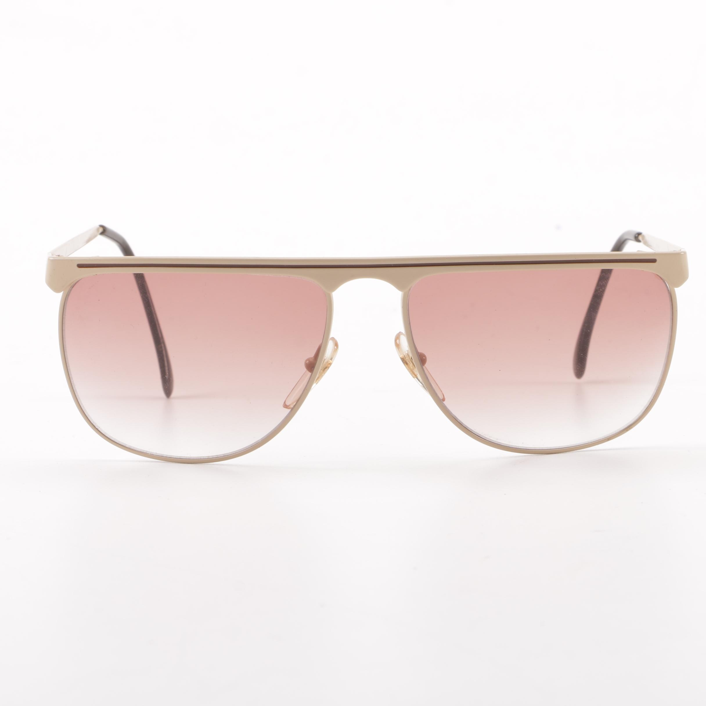 1980s Vintage Laura Biagiotti Continental Sunglasses, Made in Italy