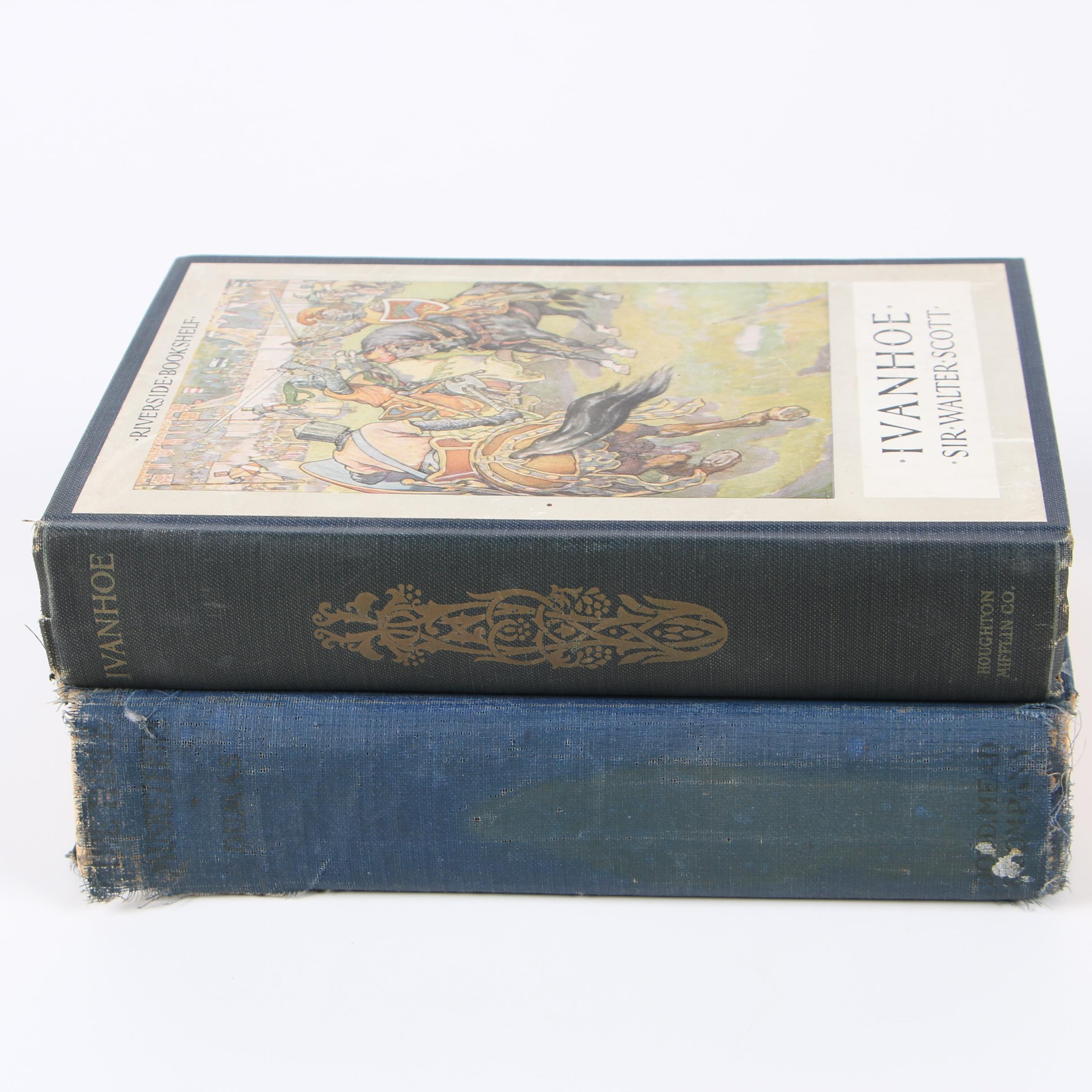 "1920s ""The Three Musketeers"" by Alexandre Dumas & ""Ivanhoe"" by Sir Walter Scott"