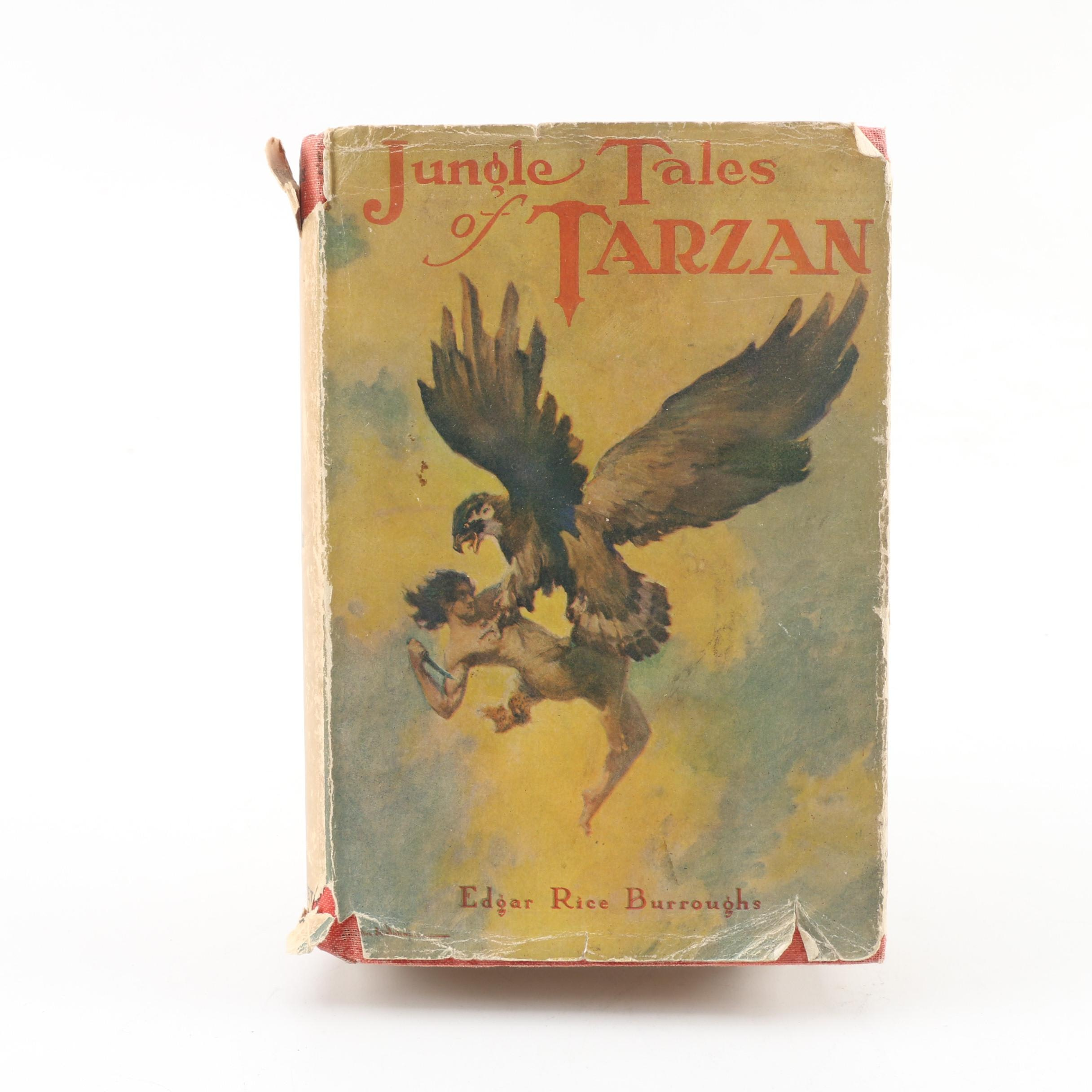 "Vintage ""Jungle Tales of Tarzan"" by Edgar Rice Burroughs"