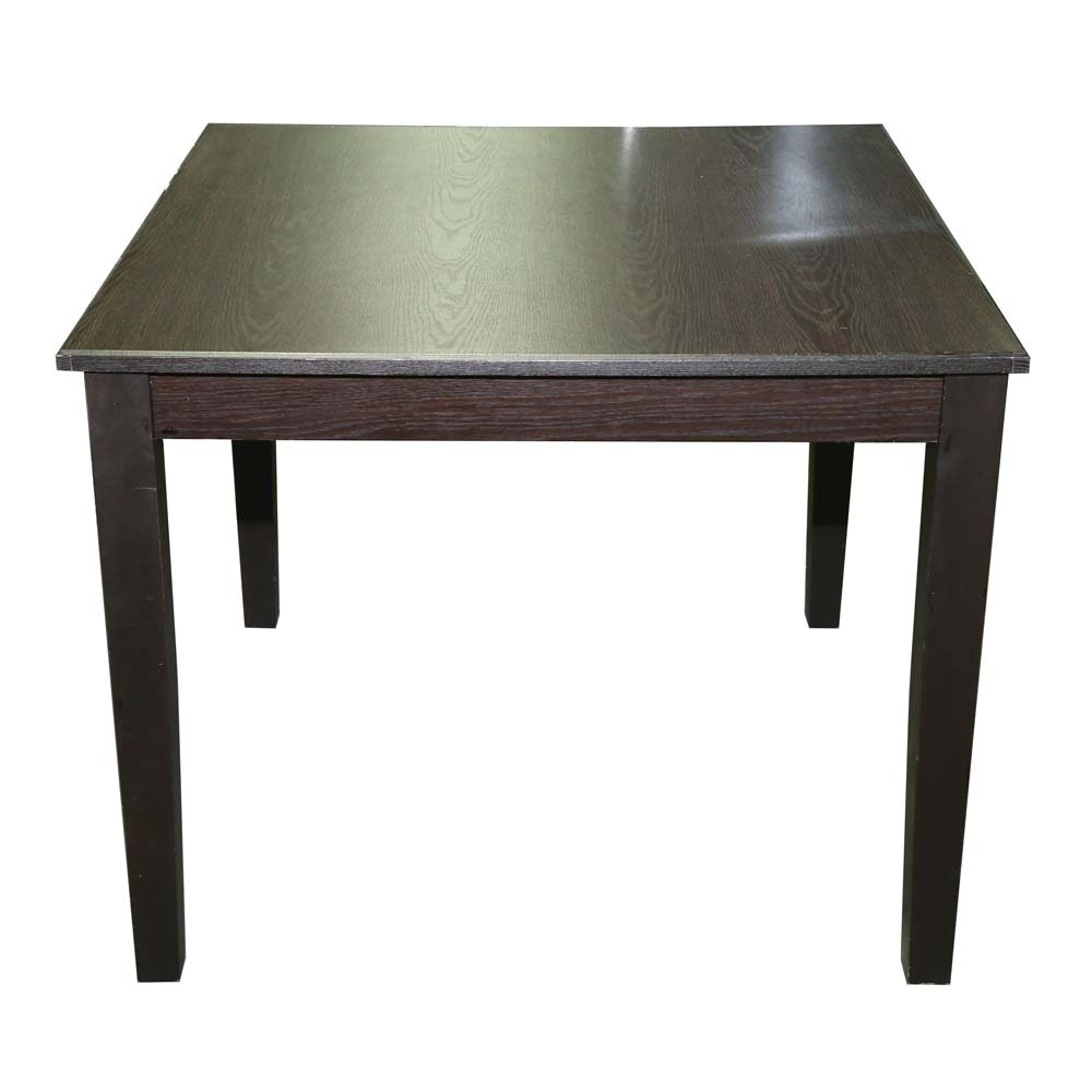 Contemporary Oak Laminate Square Dining Table by Cort