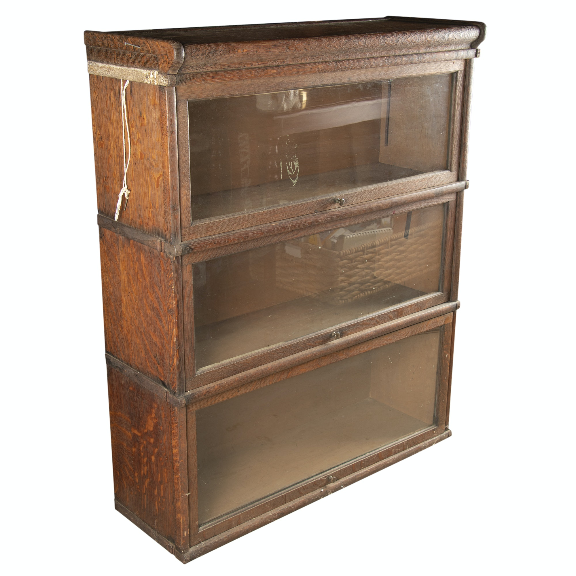 Oak Barrister's Bookcase, 20th Century