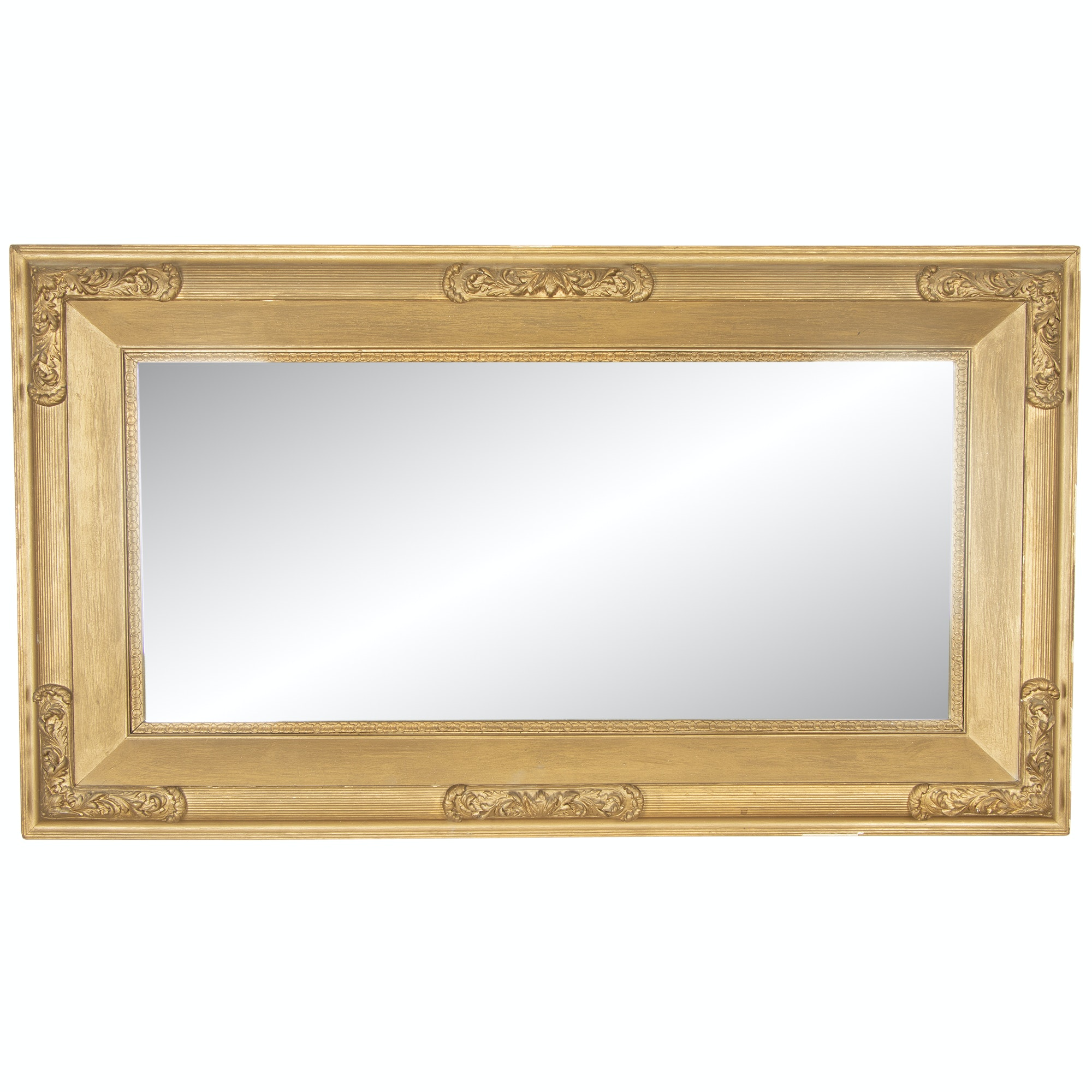 Regency Style Giltwood Wall Mount Mirror, Late 20th Century