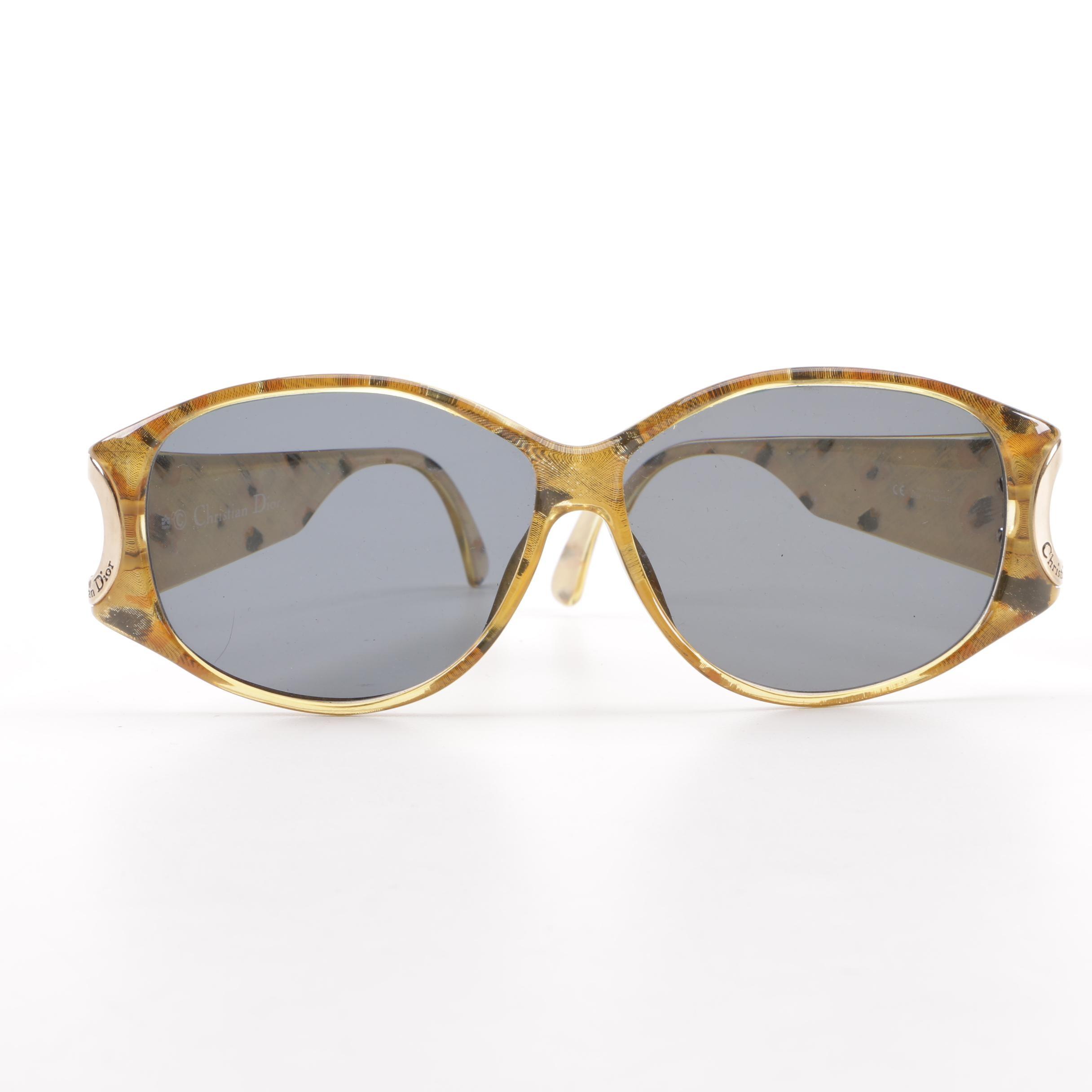 Vintage Christian Dior 2759 Polarized Prescription Sunglasses, Made in Austria