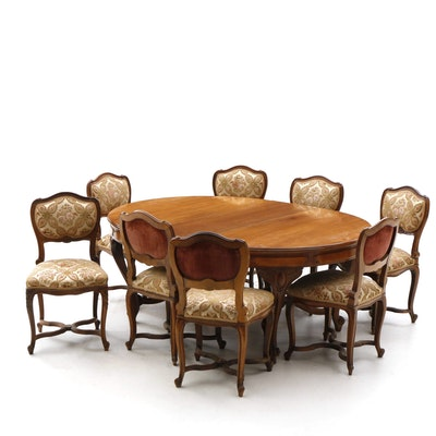 French Provincial Style Dining Set 20th Century