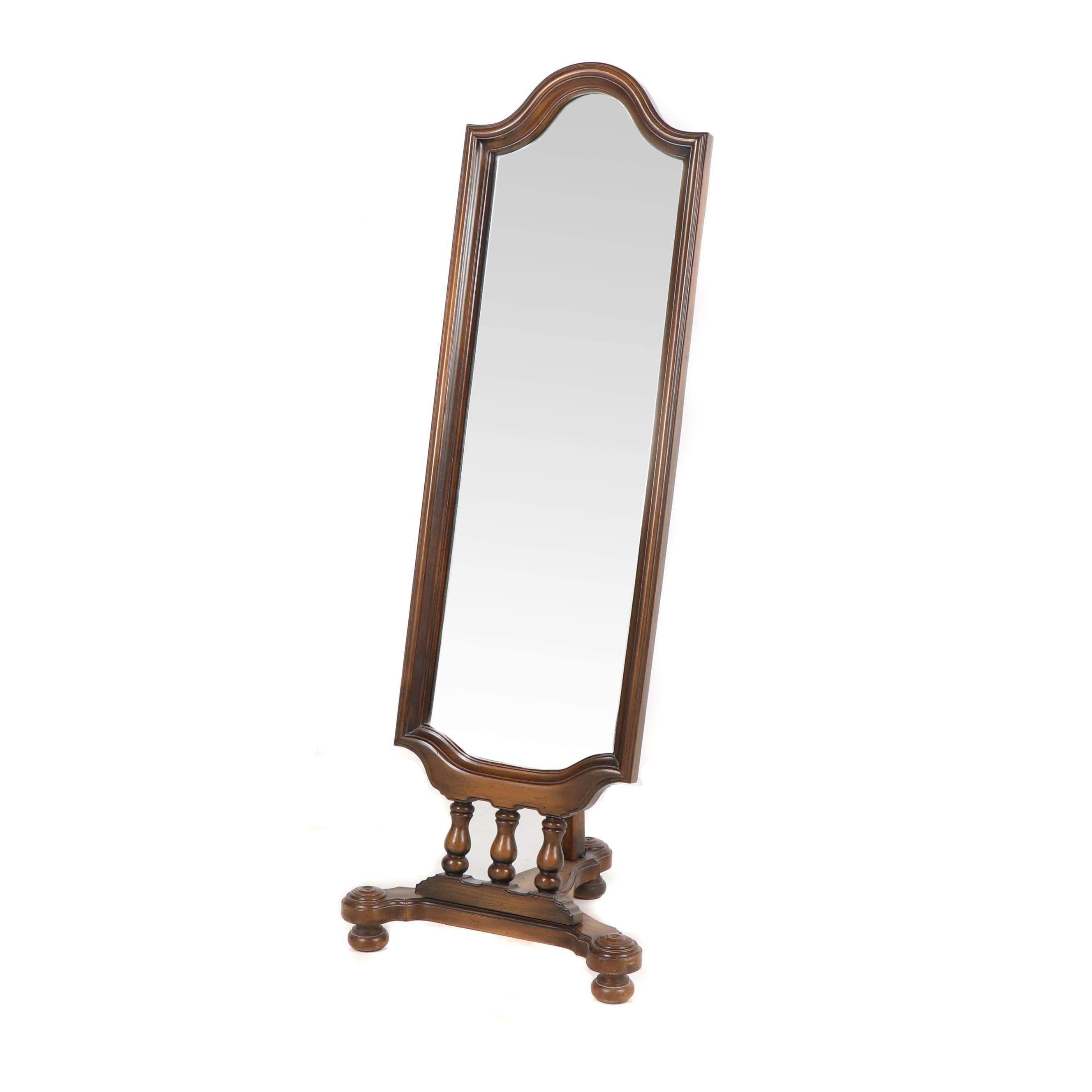 Standing Wood Framed Dressing Mirror